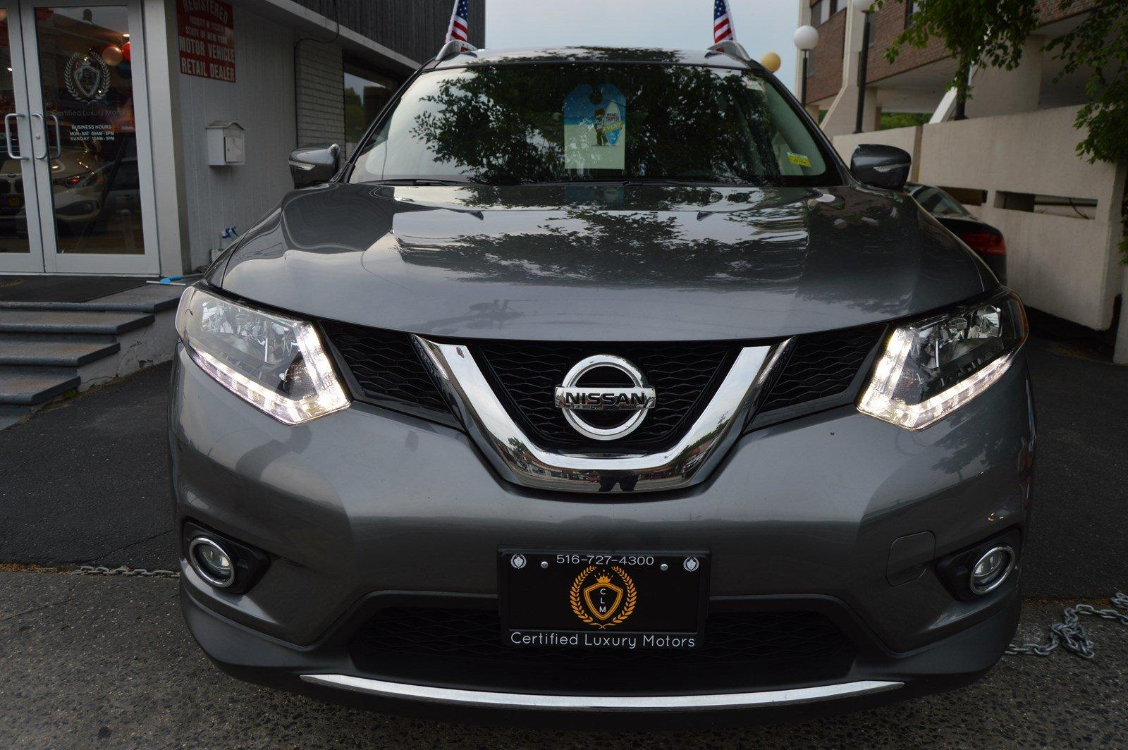 2015 nissan rogue sl awd stock 6035 for sale near great neck ny ny nissan dealer. Black Bedroom Furniture Sets. Home Design Ideas