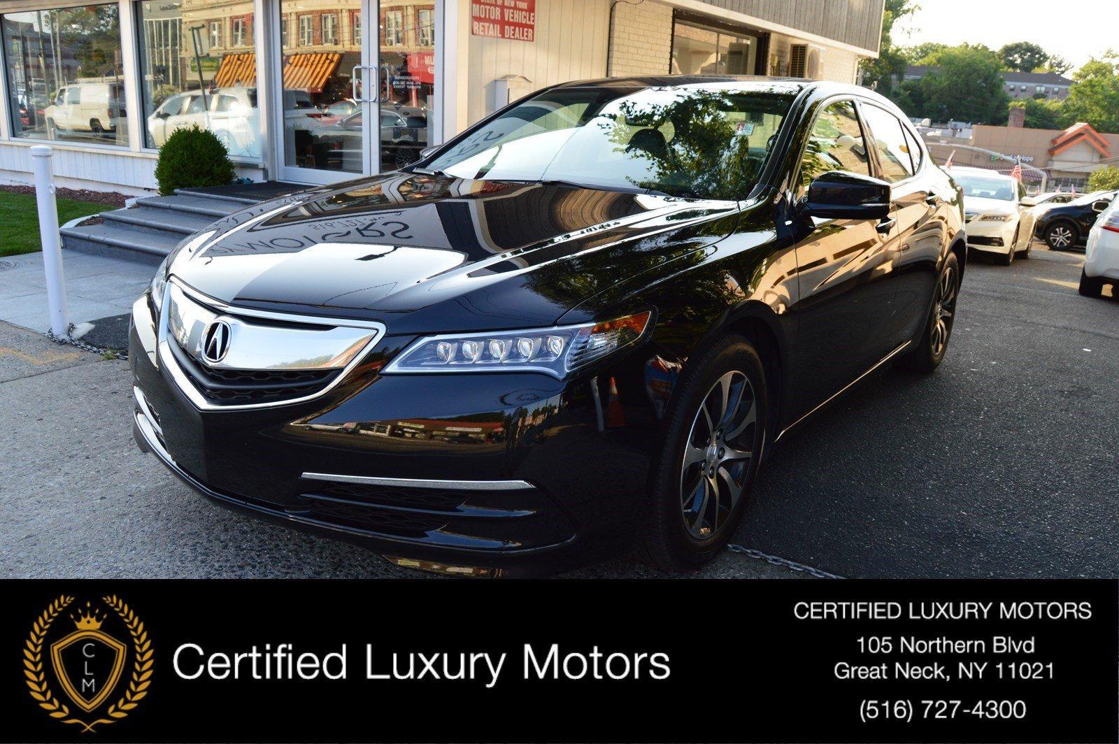 Acura Dealer Ny >> 2015 Acura Tlx V6 Stock 6238 For Sale Near Great Neck Ny Ny