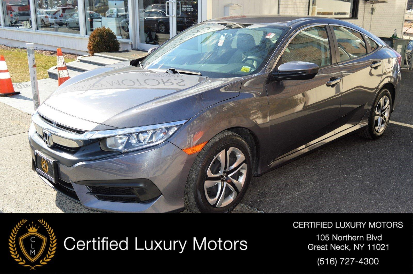 Used 2016 Honda Civic Sedan LX | Great Neck, NY