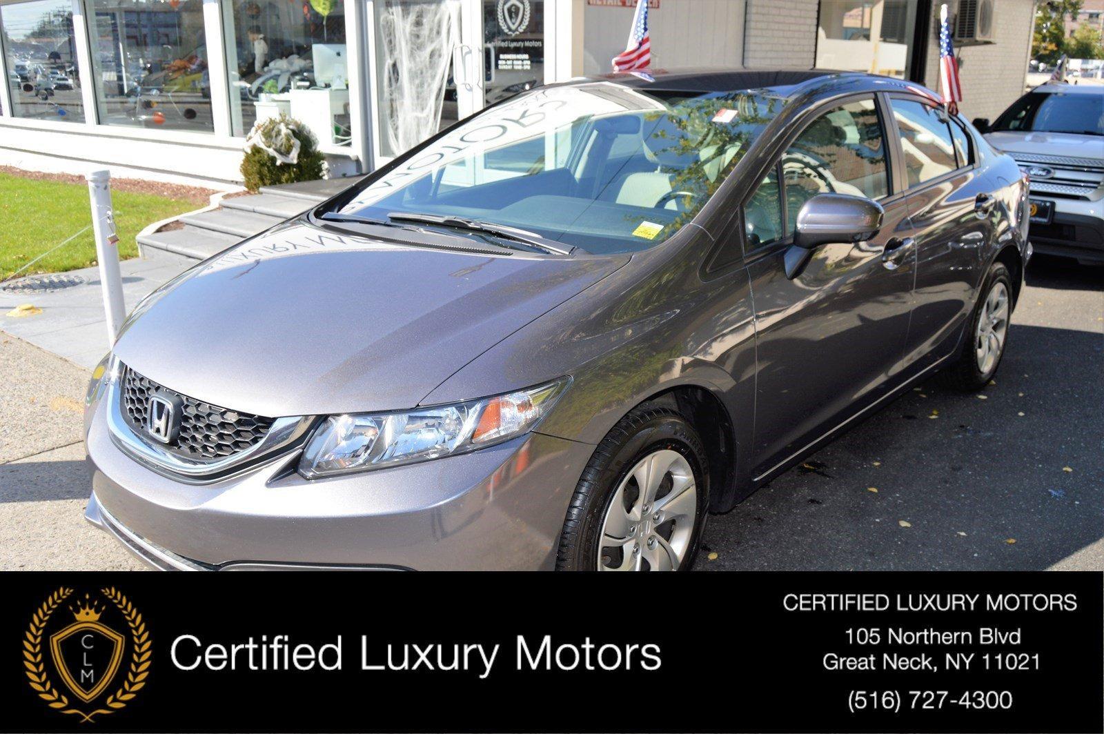Used 2015 Honda Civic Sedan LX | Great Neck, NY