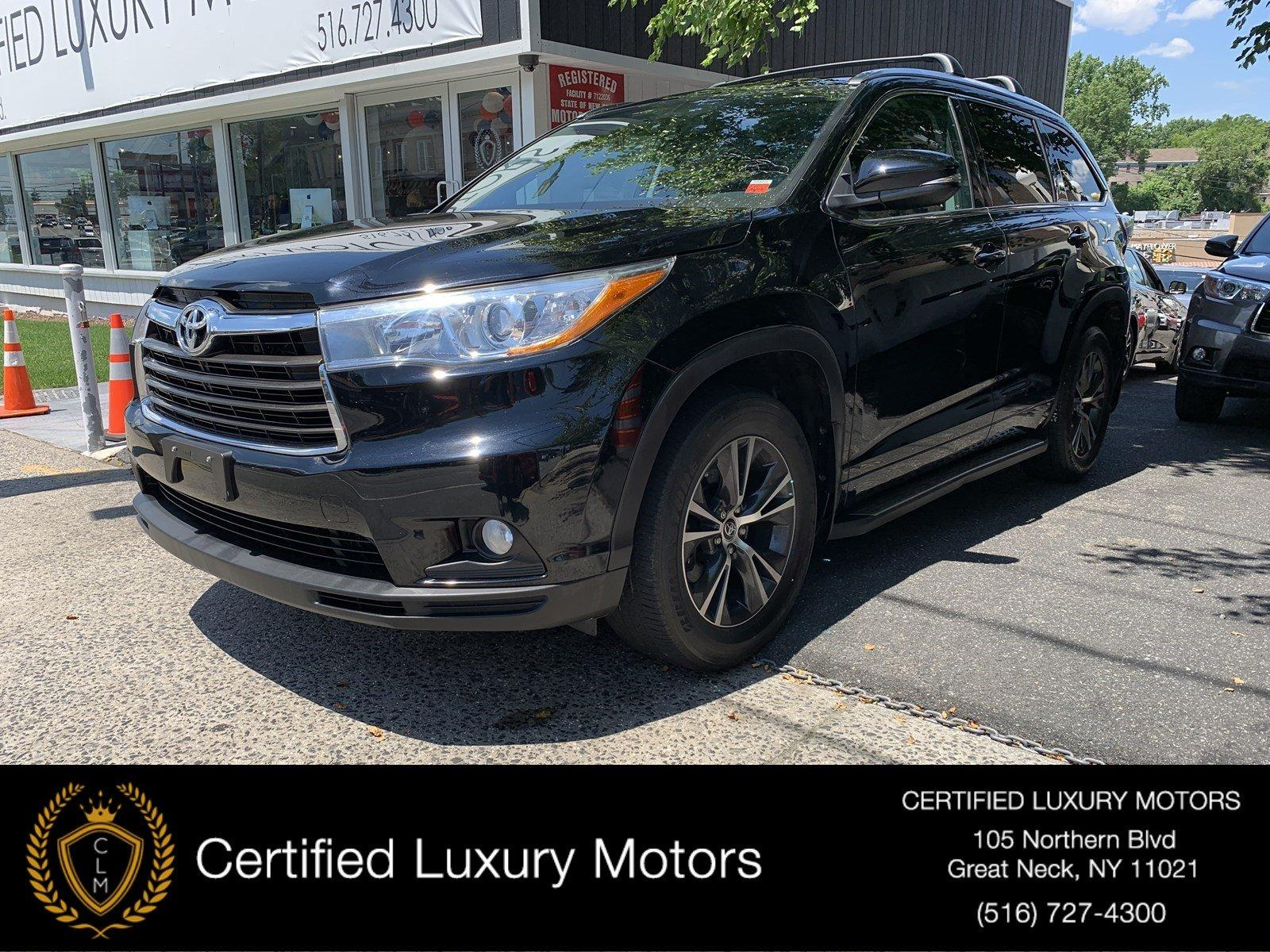 Used 2016 Toyota Highlander XLE (Navi,Leather,RoofRack,Running Boards) | Great Neck, NY