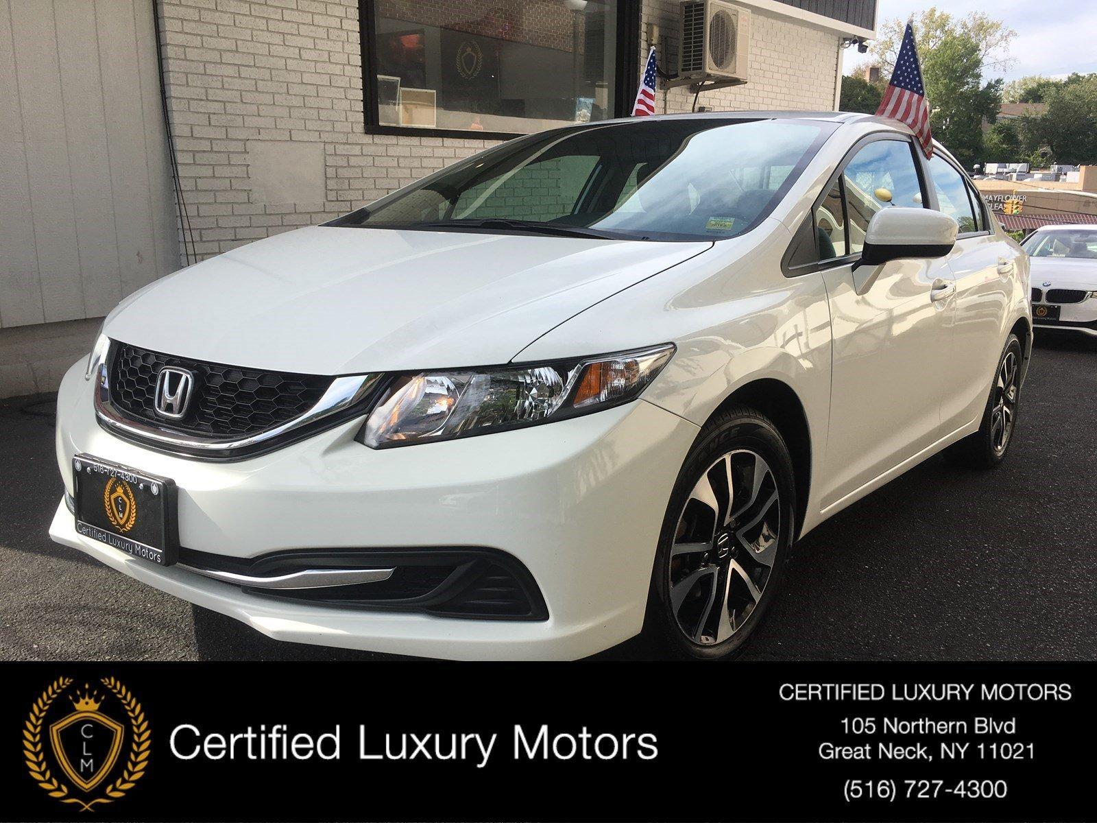 Used 2015 Honda Civic Sedan EX | Great Neck, NY