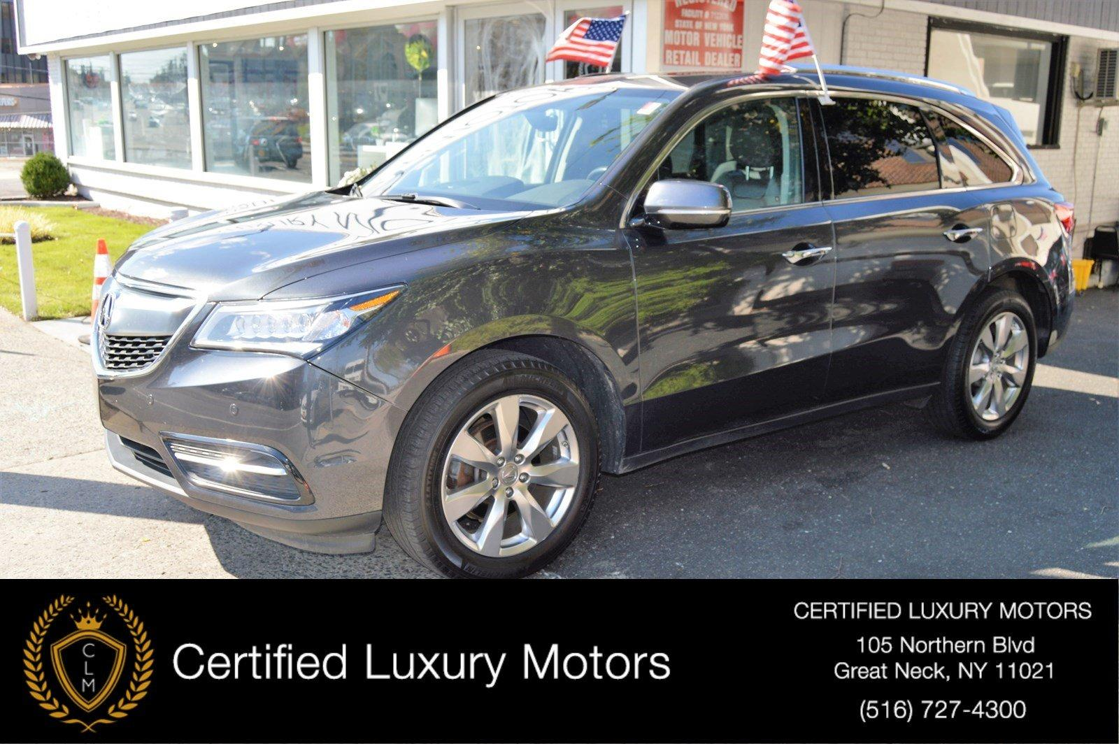 2016 acura mdx w advance entertainment stock 2195 for sale near great neck ny ny acura dealer. Black Bedroom Furniture Sets. Home Design Ideas