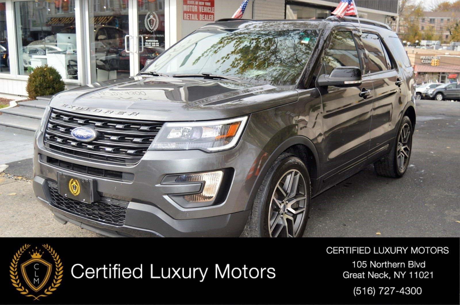 Used 2016 Ford Explorer Sport | Great Neck, NY