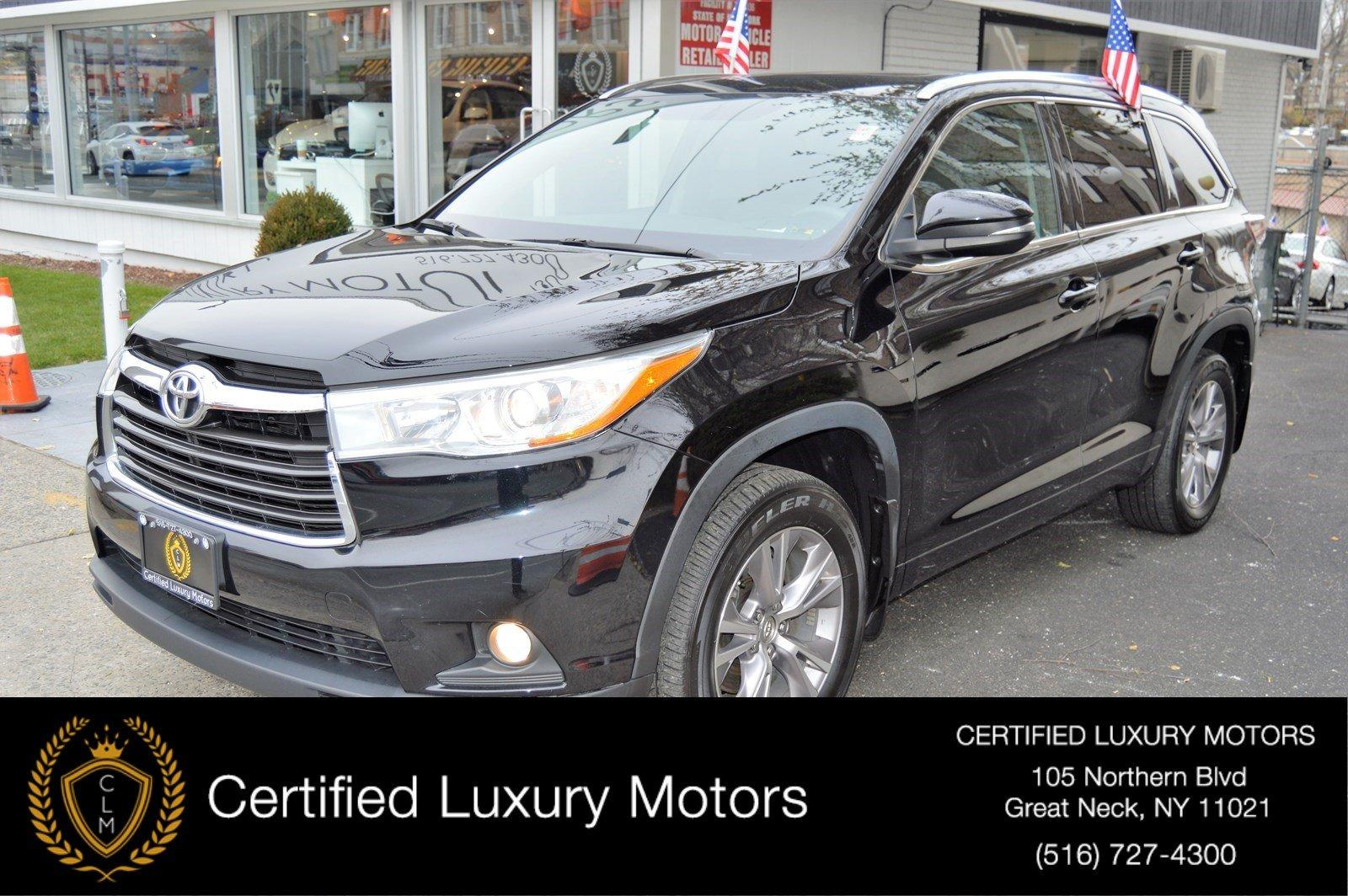 Used 2015 Toyota Highlander XLE (Navi/ Leather) | Great Neck, NY