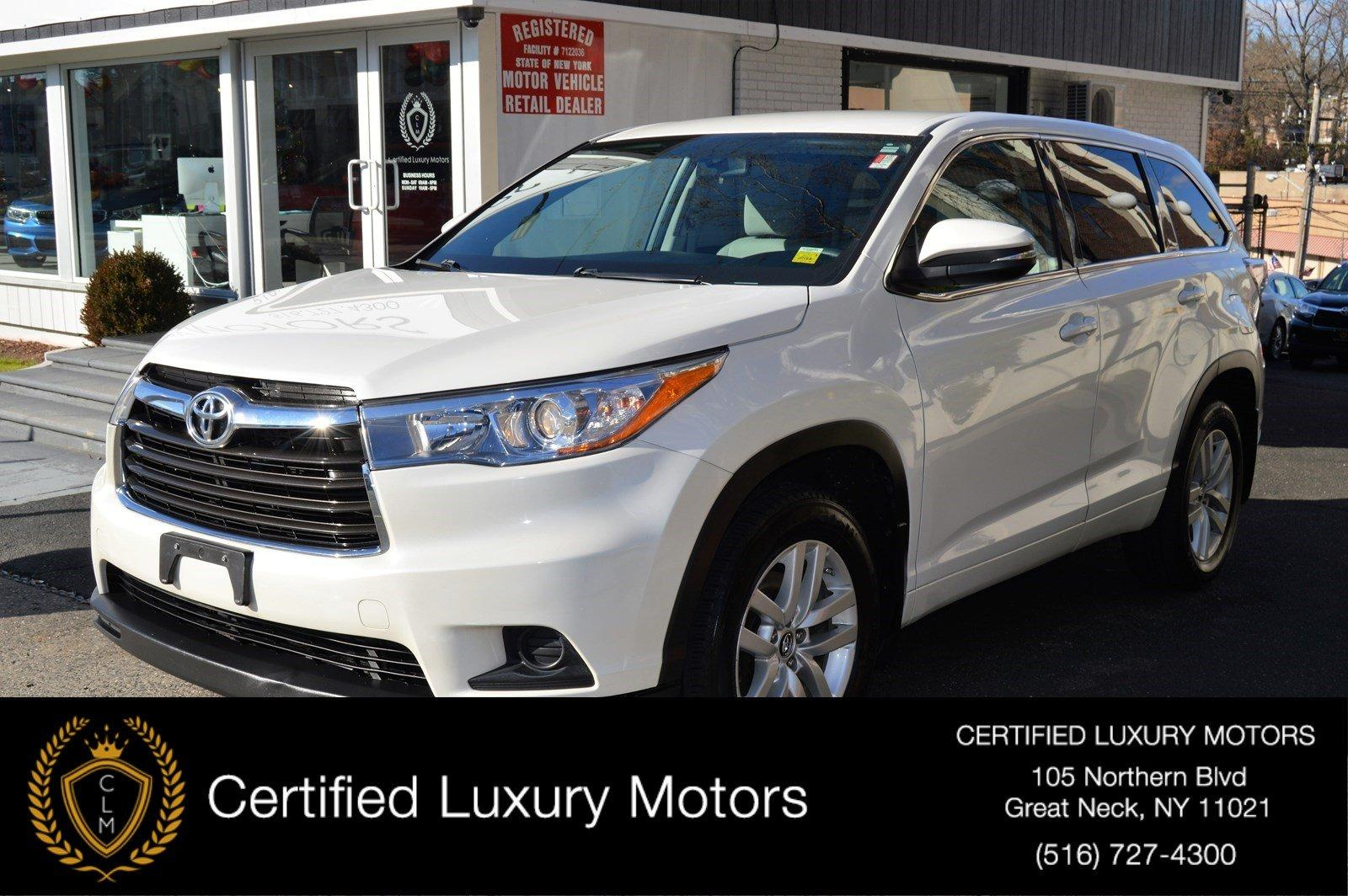Used 2016 Toyota Highlander LE | Great Neck, NY