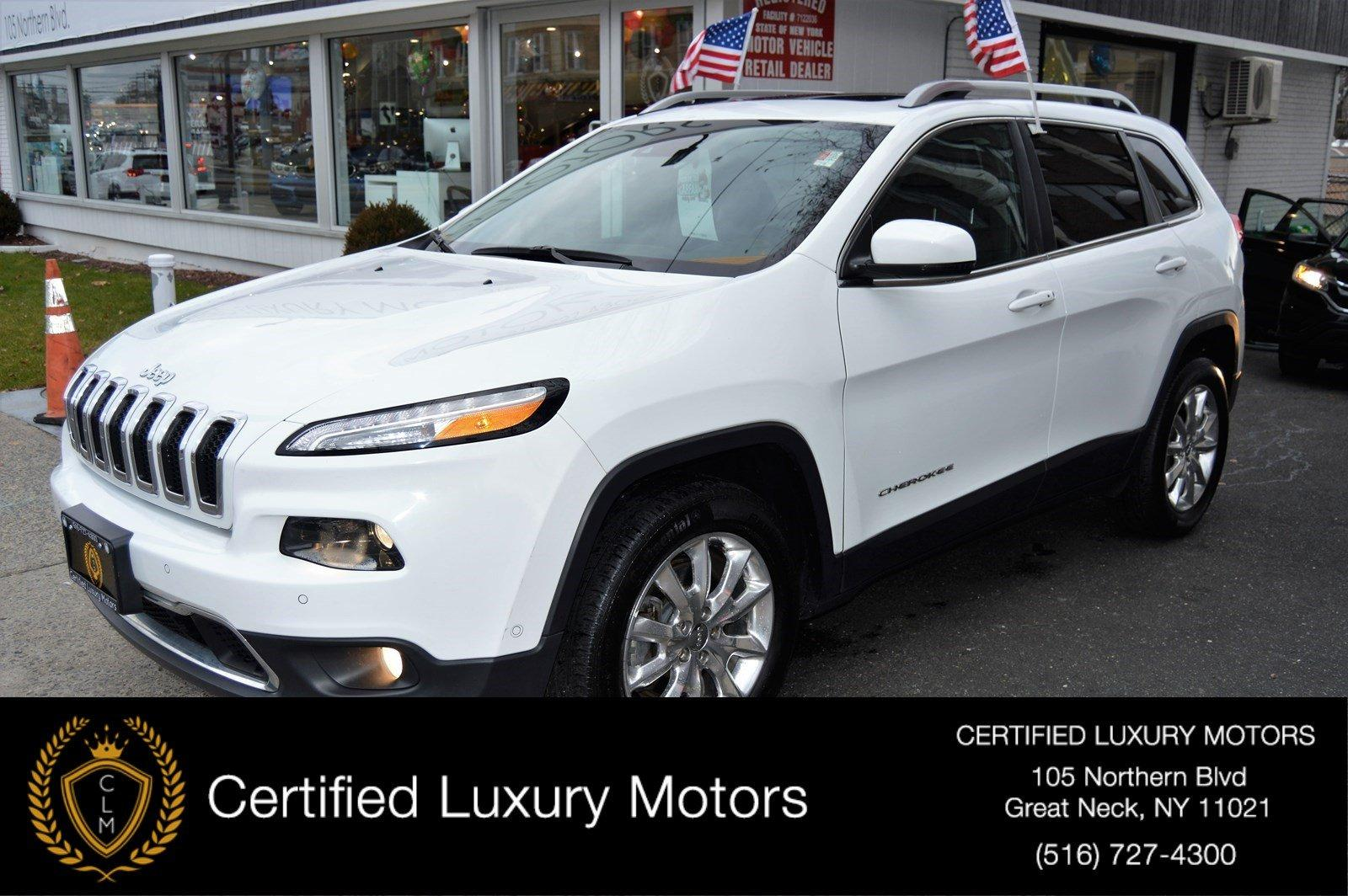 Used 2015 Jeep Cherokee Limited | Great Neck, NY