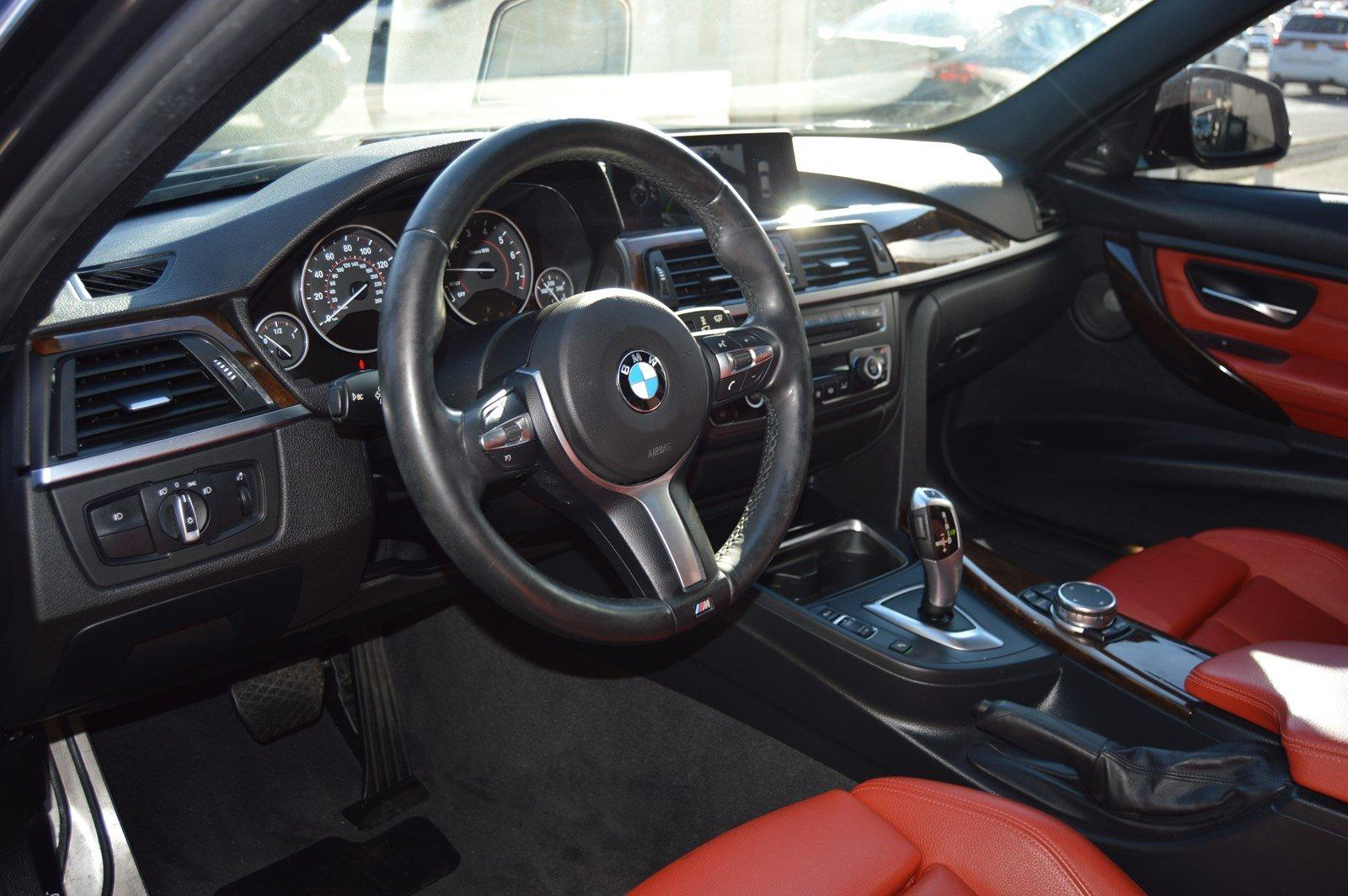 2015 Bmw 328i Xdrive Red Interior M Sport Pkg Navi Stock 8525 For Sale Near Great Neck Ny Ny Bmw Dealer