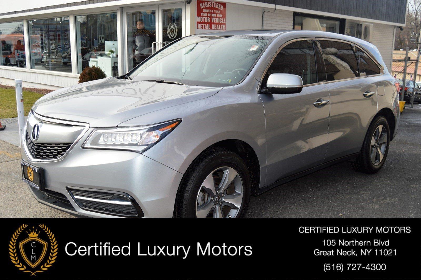 Acura Dealer Ny >> 2016 Acura Mdx Stock 7809 For Sale Near Great Neck Ny Ny Acura