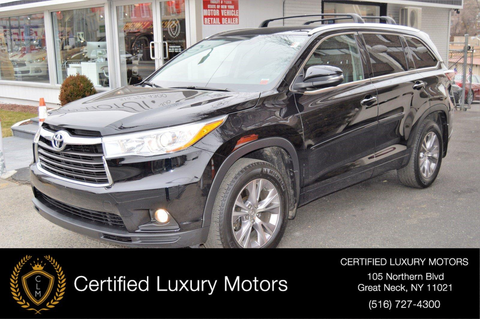 Used 2015 Toyota Highlander XLE (Navi/Leather/Sunroof) | Great Neck, NY