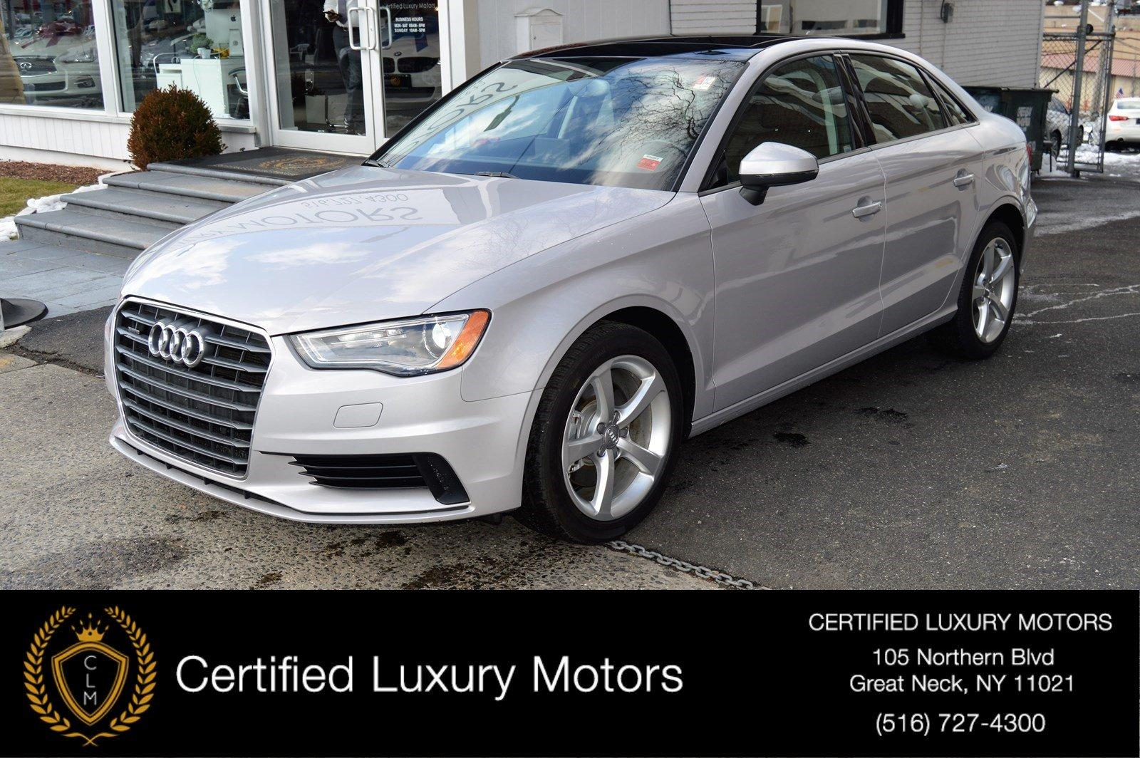 Used 2015 Audi A3 2.0T Premium (NAVI/SUNROOF) | Great Neck, NY