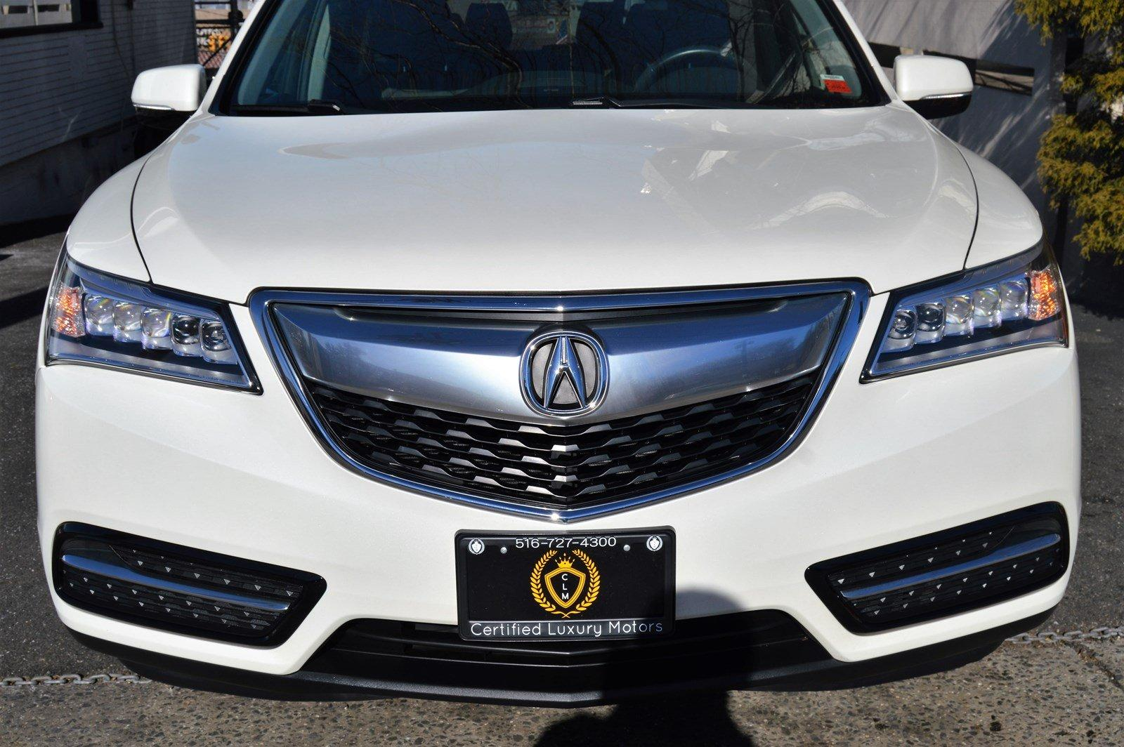 Used-2016-Acura-MDX-w/Tech