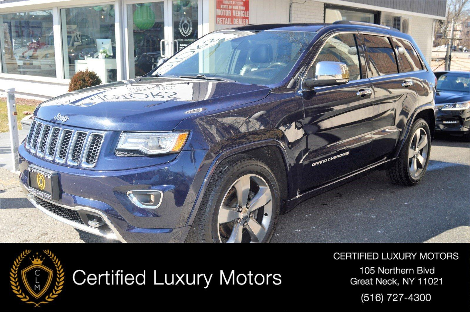 Used 2015 Jeep Grand Cherokee High Altitude | Great Neck, NY