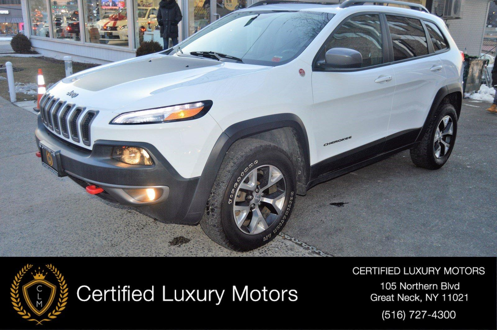 Used 2014 Jeep Cherokee Trailhawk | Great Neck, NY