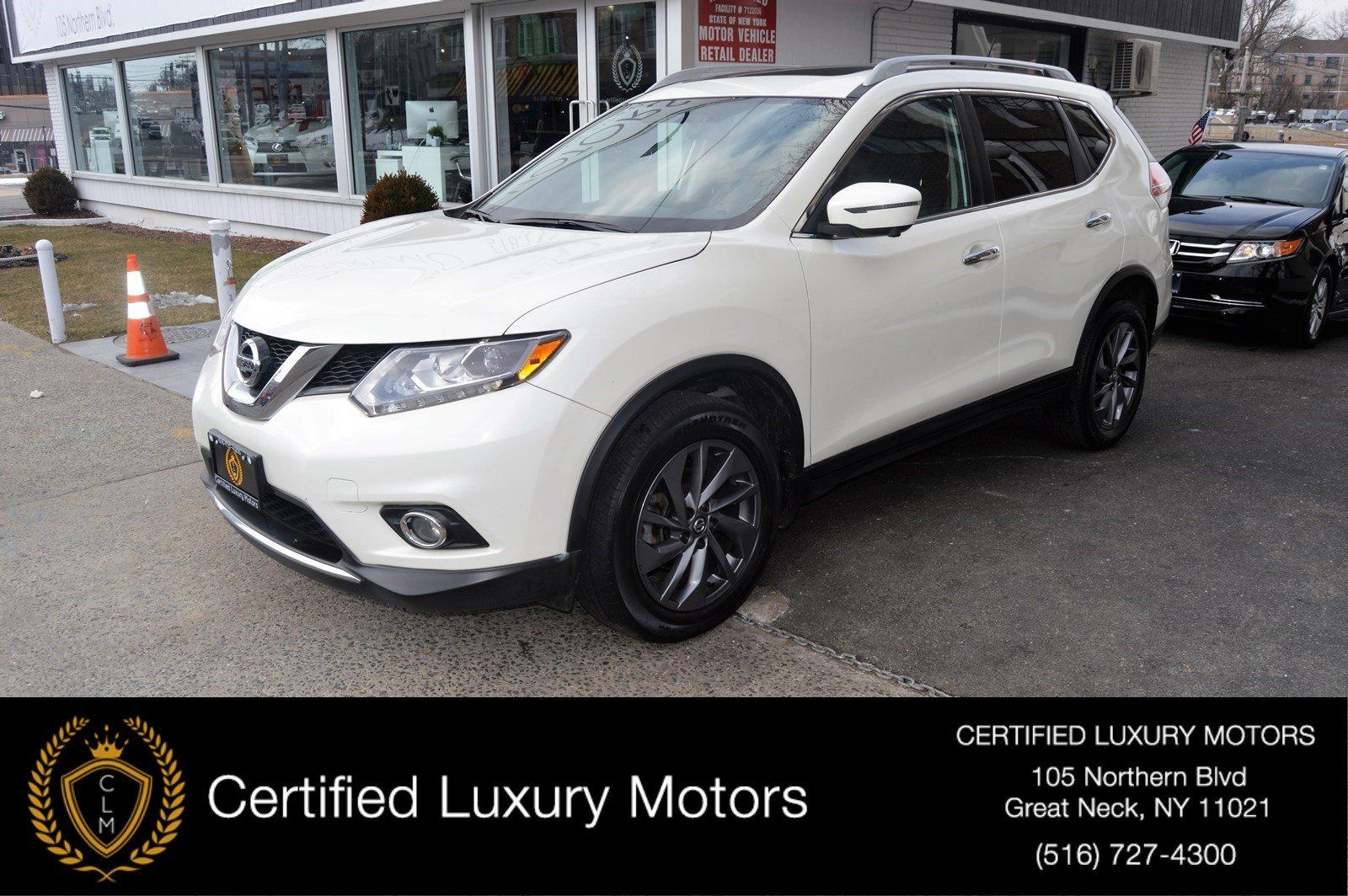 Used 2016 Nissan Rogue SL Awd (Navi, Pano Roof) | Great Neck, NY