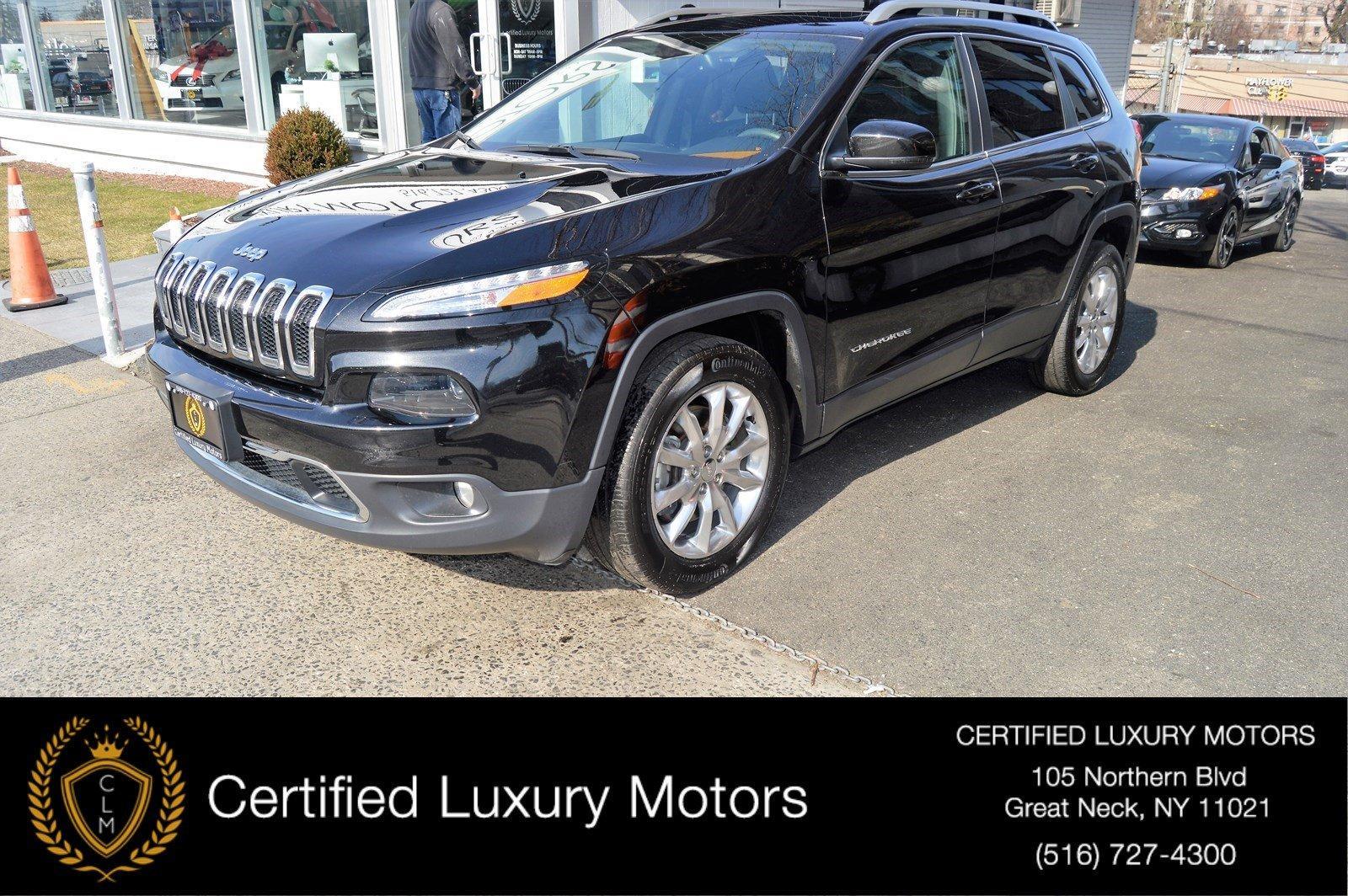 Used 2016 Jeep Cherokee Limited (Navi,Sunroof) | Great Neck, NY