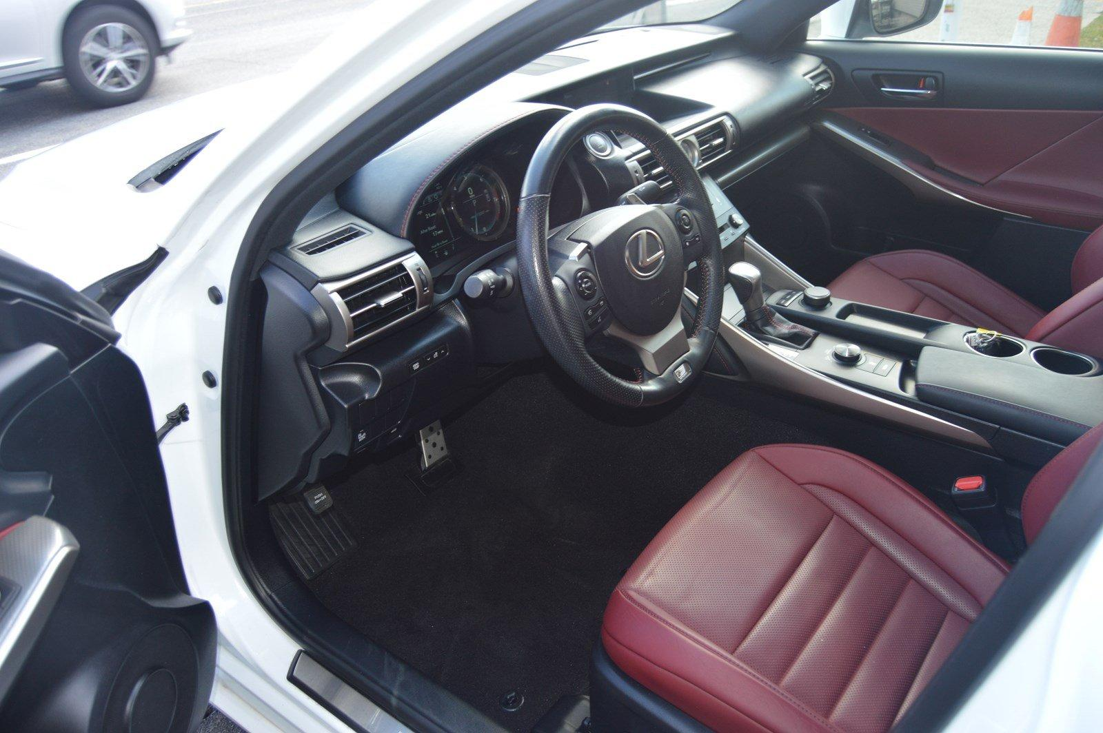 Used-2016-Lexus-IS-300-(Red-Interior,Loaded)