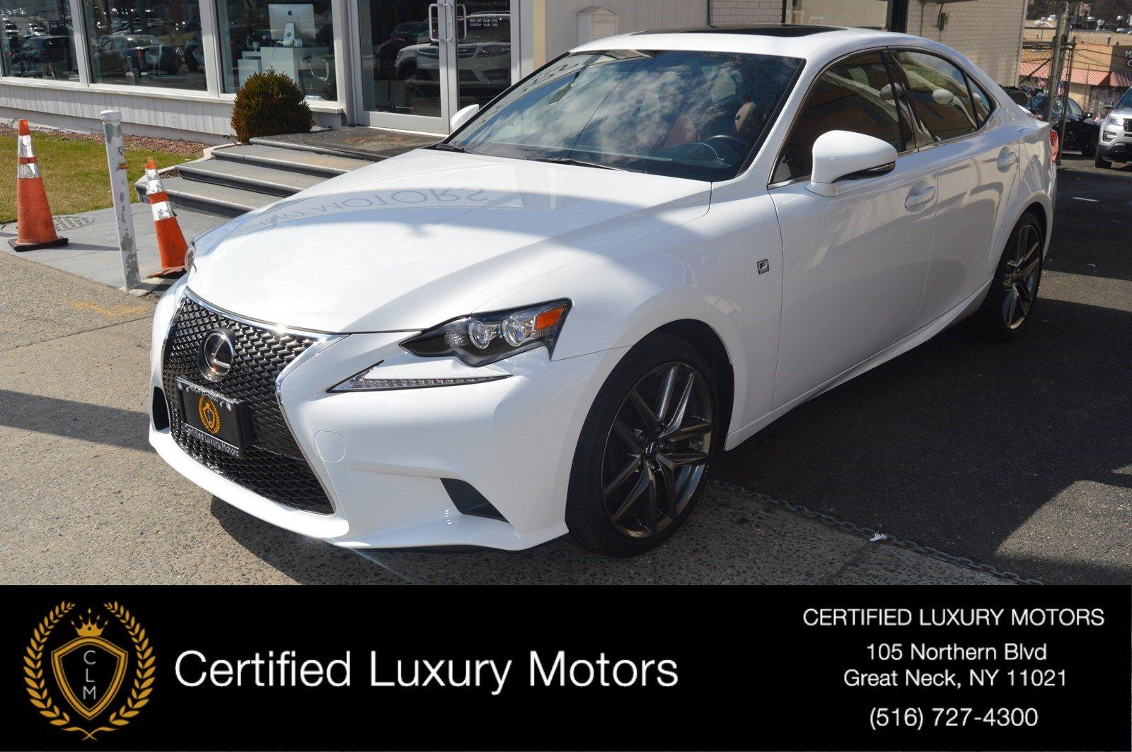 Used 2016 Lexus IS 300 (Red Interior,Loaded)  | Great Neck, NY