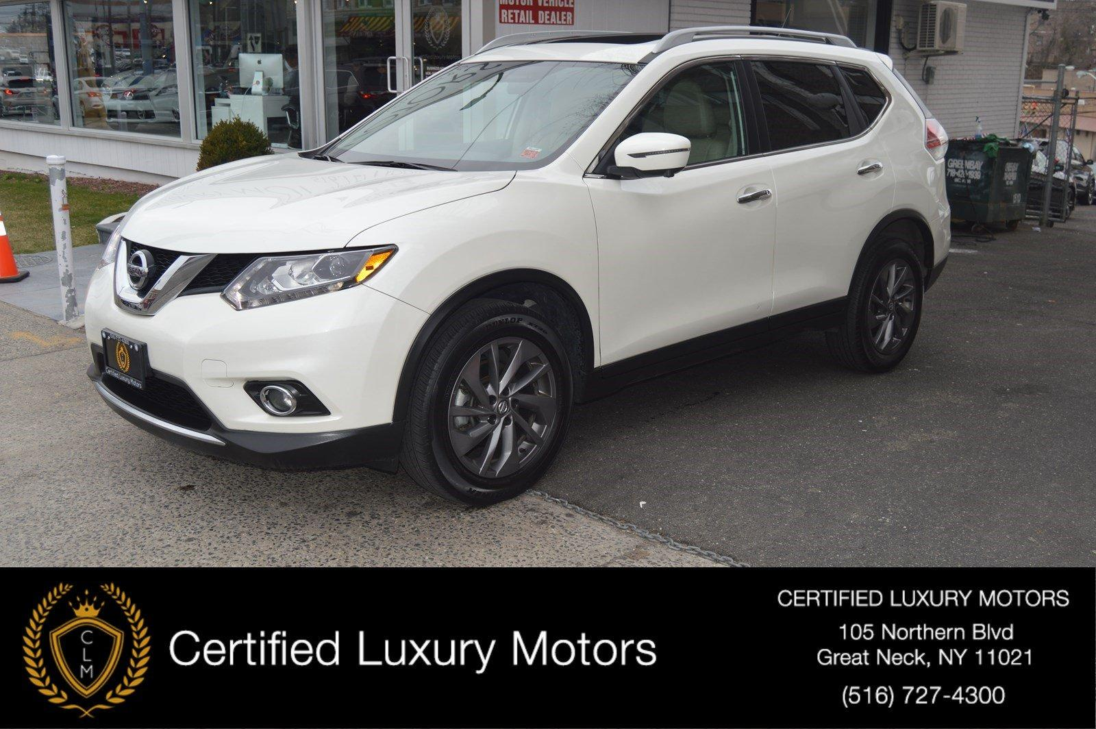 Used 2016 Nissan Rogue SL (NAVI, PANO ROOF) | Great Neck, NY