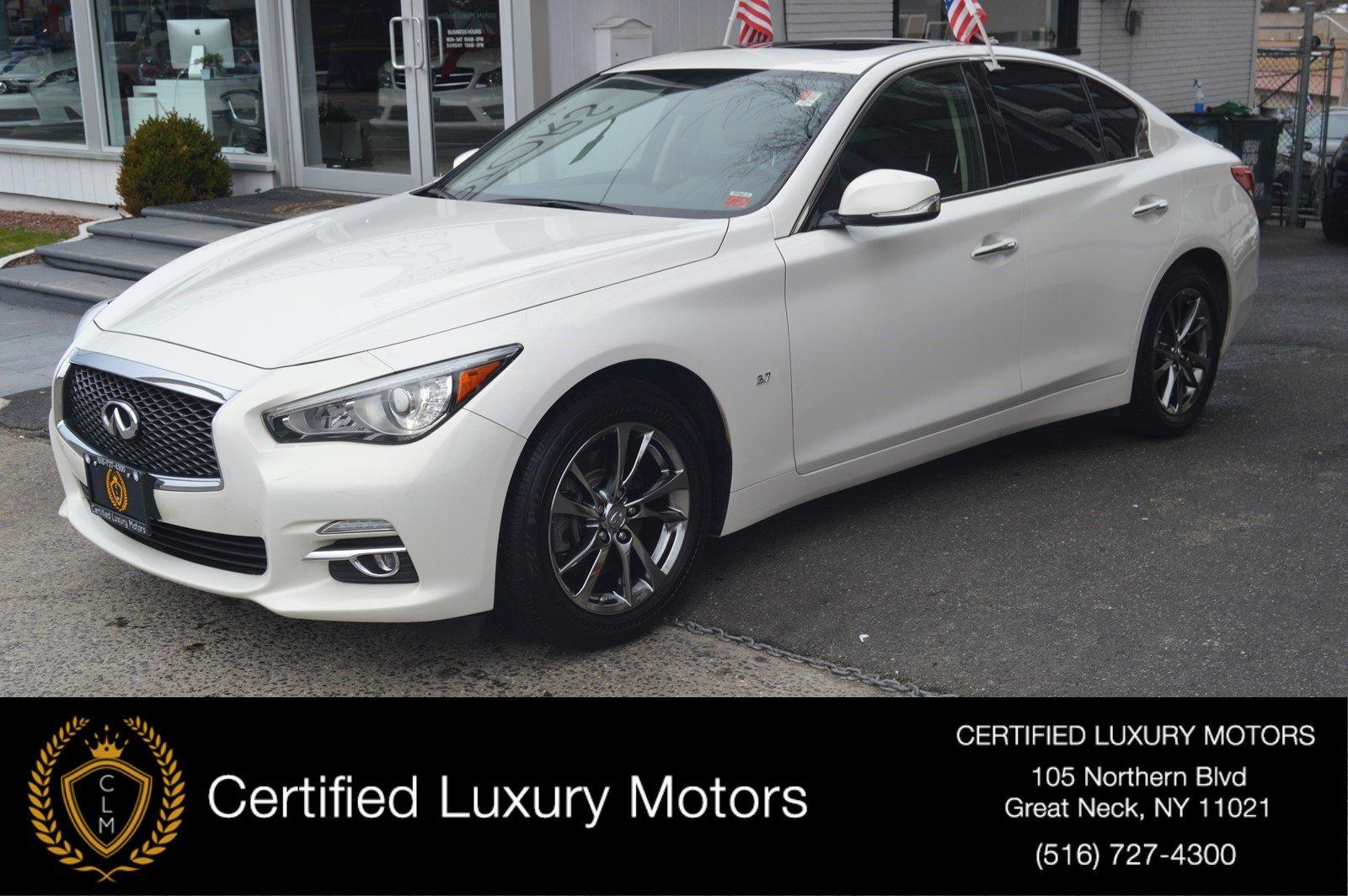 Used 2015 INFINITI Q50 Premium AWD Premium | Great Neck, NY