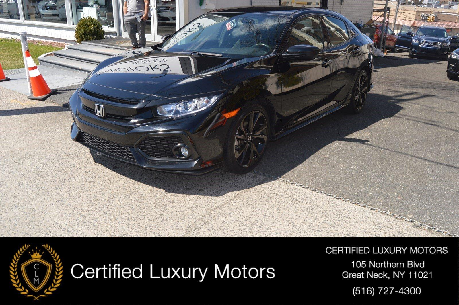 Used 2017 Honda Civic Hatchback Sport | Great Neck, NY