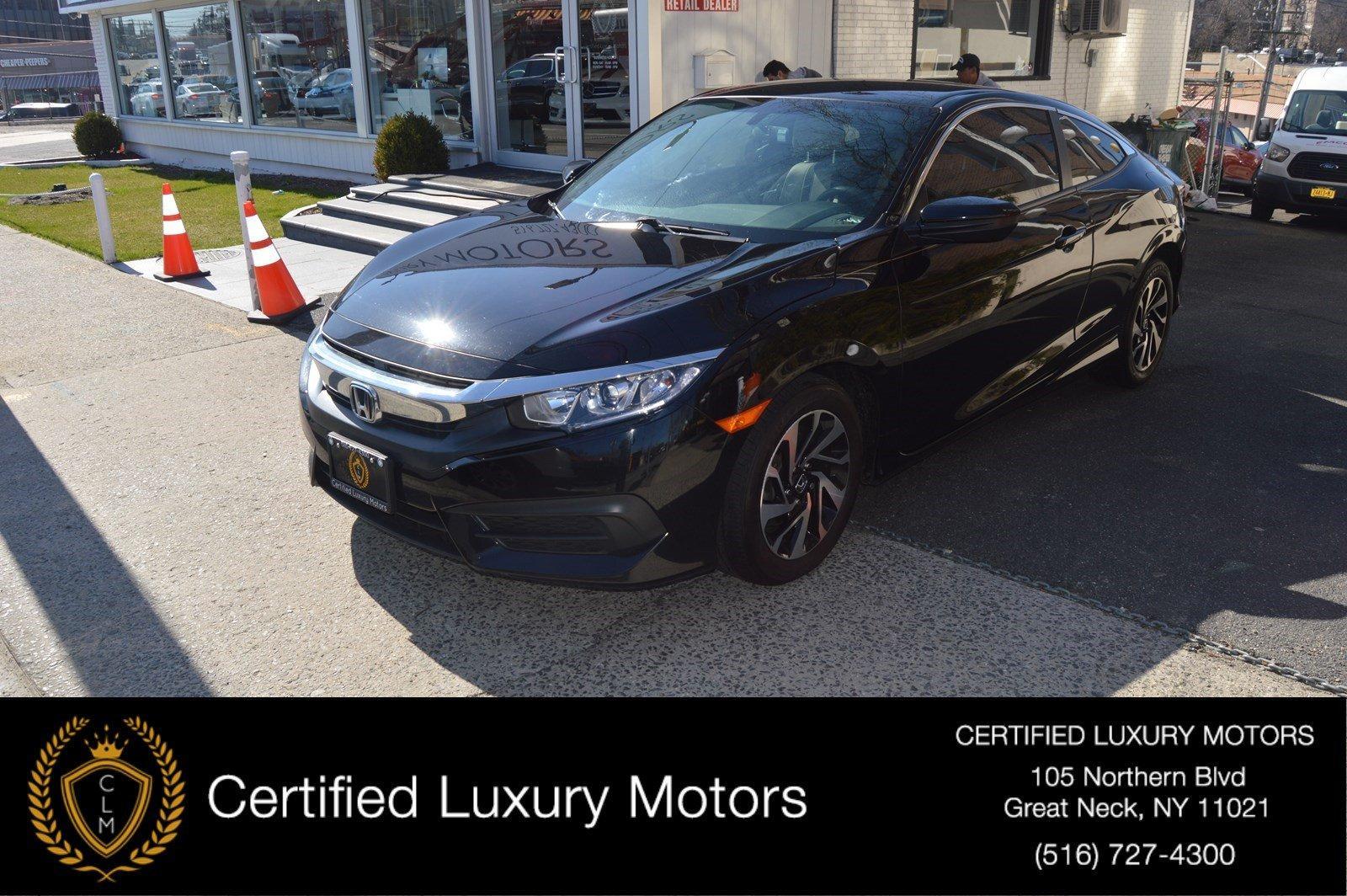 Used 2016 Honda Civic Coupe Lx
