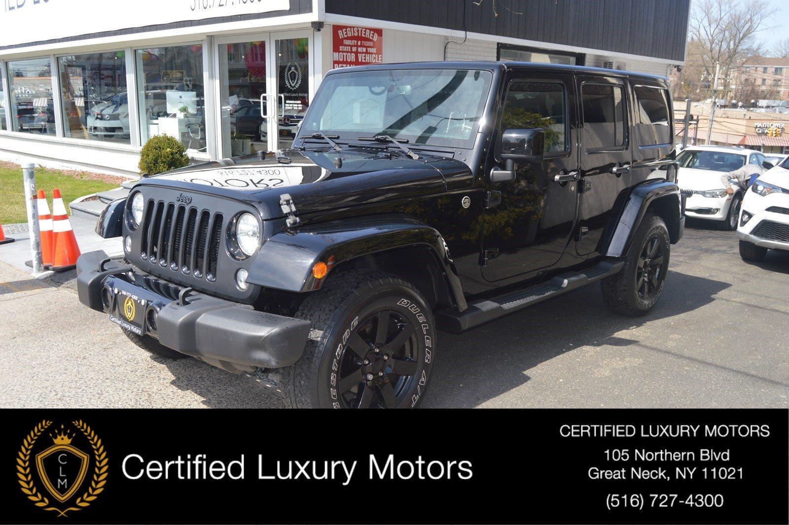 Used 2014 Jeep Wrangler Unlimited Sahara (Navi, Leather) | Great Neck, NY