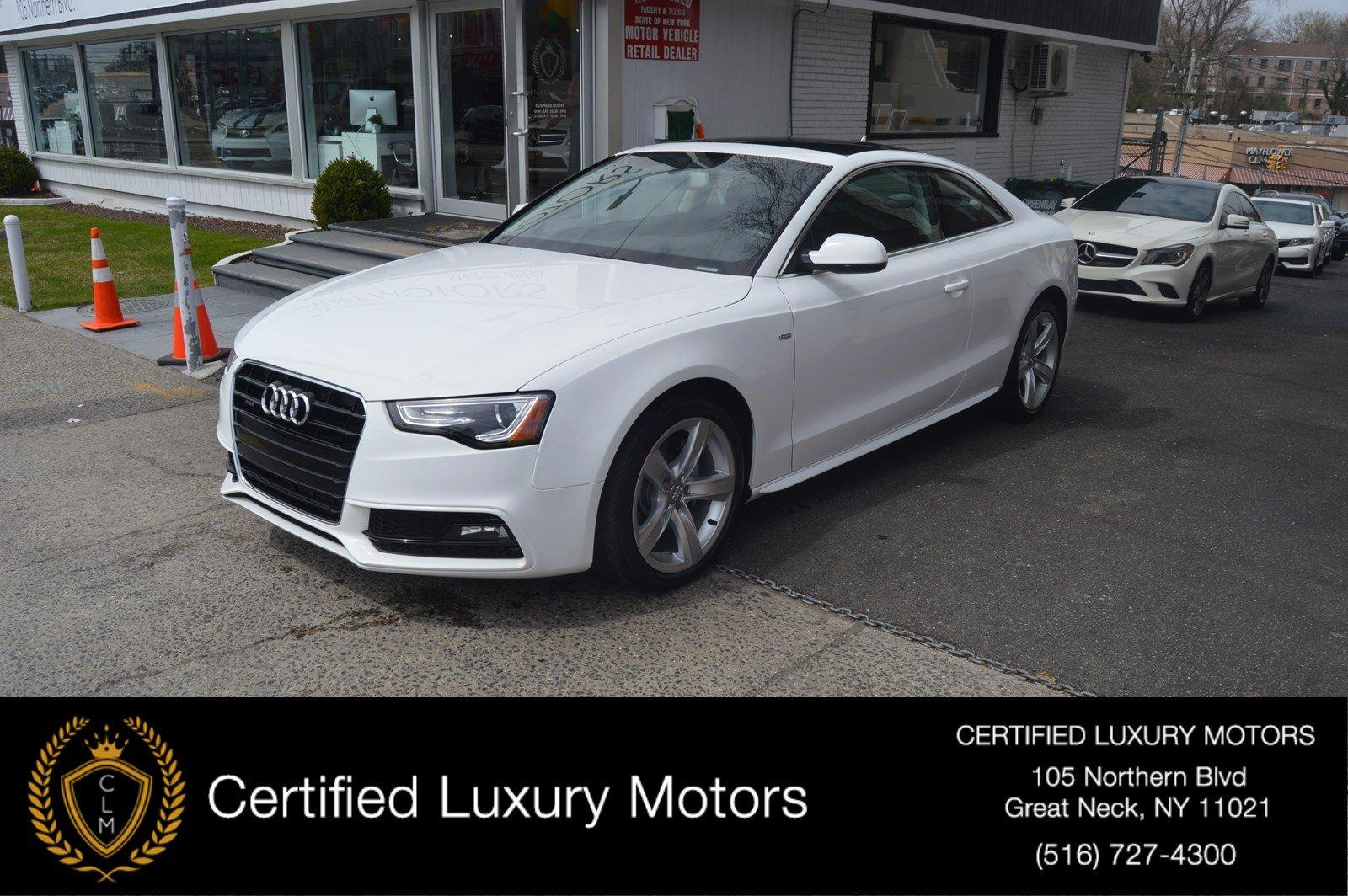 Used 2016 Audi A5 Premium | Great Neck, NY