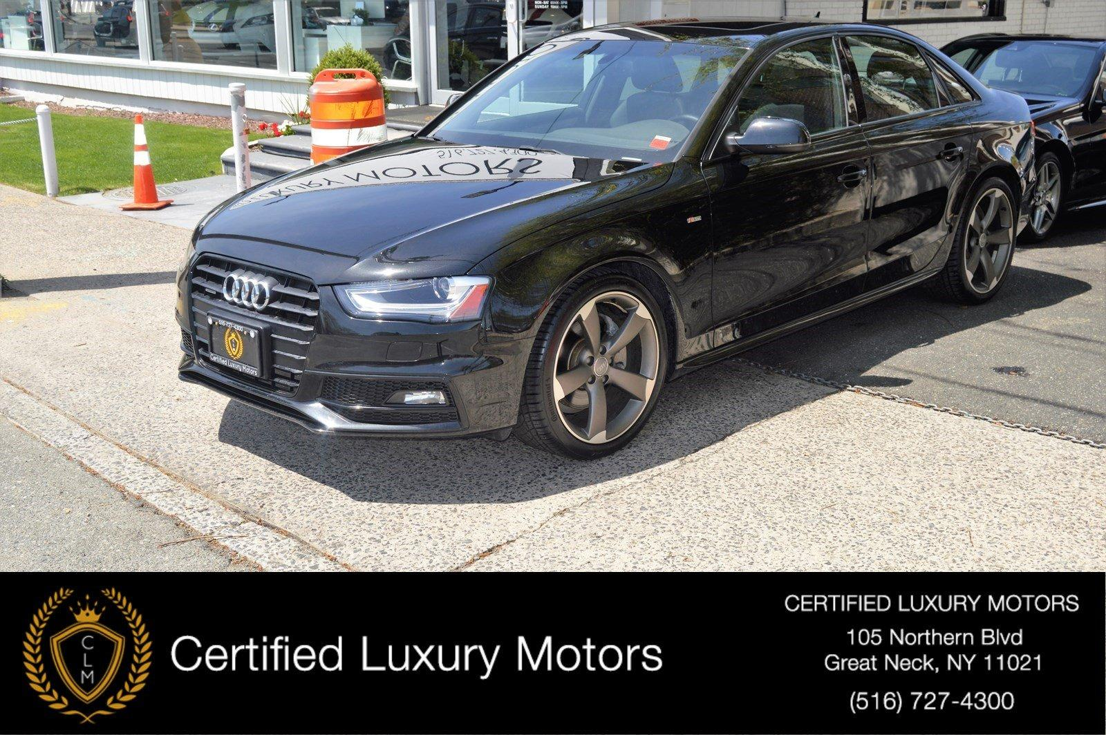 Used 2015 Audi A4 Premium Plus (S-LINE) | Great Neck, NY
