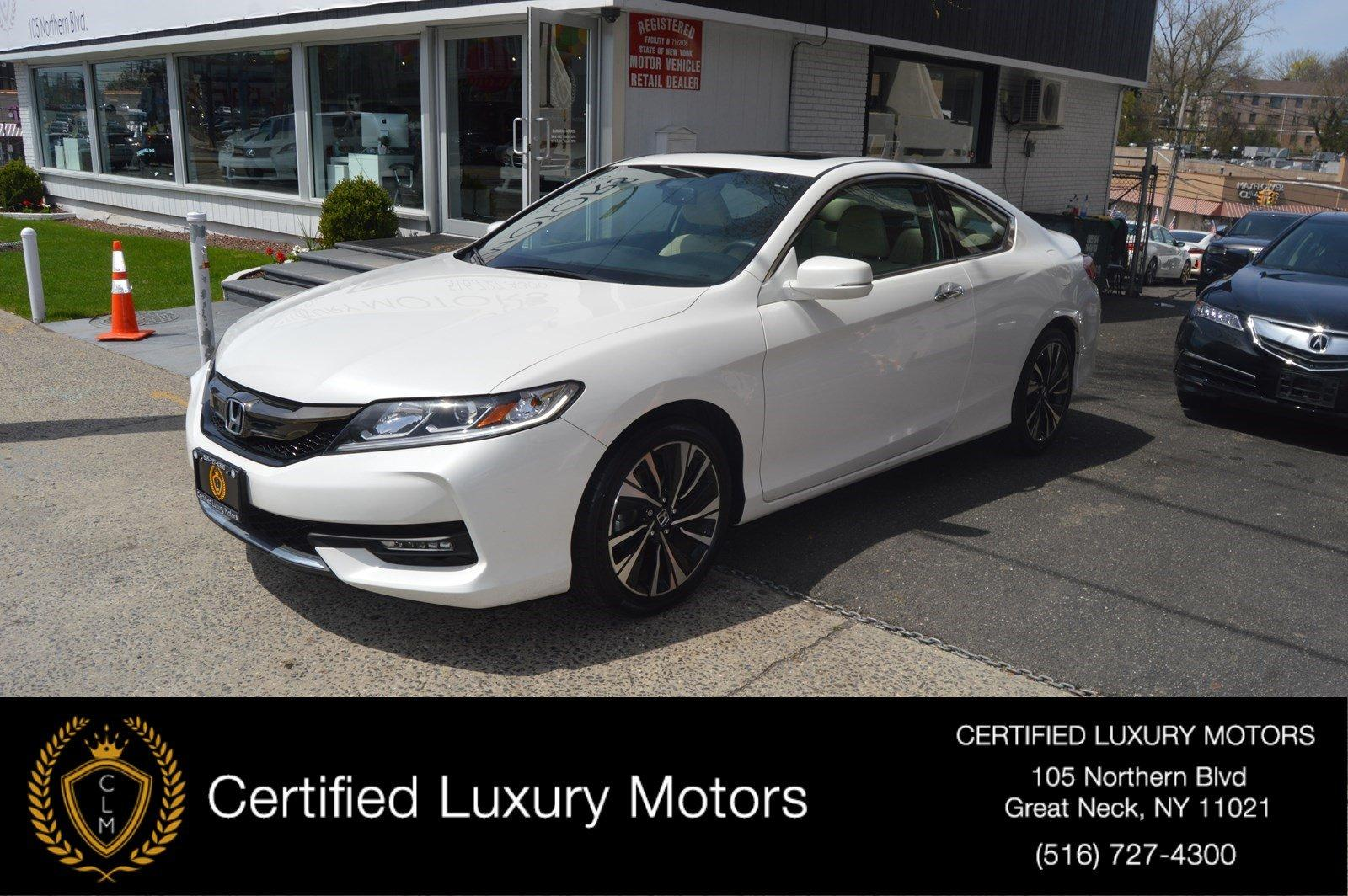 Used 2016 Honda Accord Coupe EX-L | Great Neck, NY