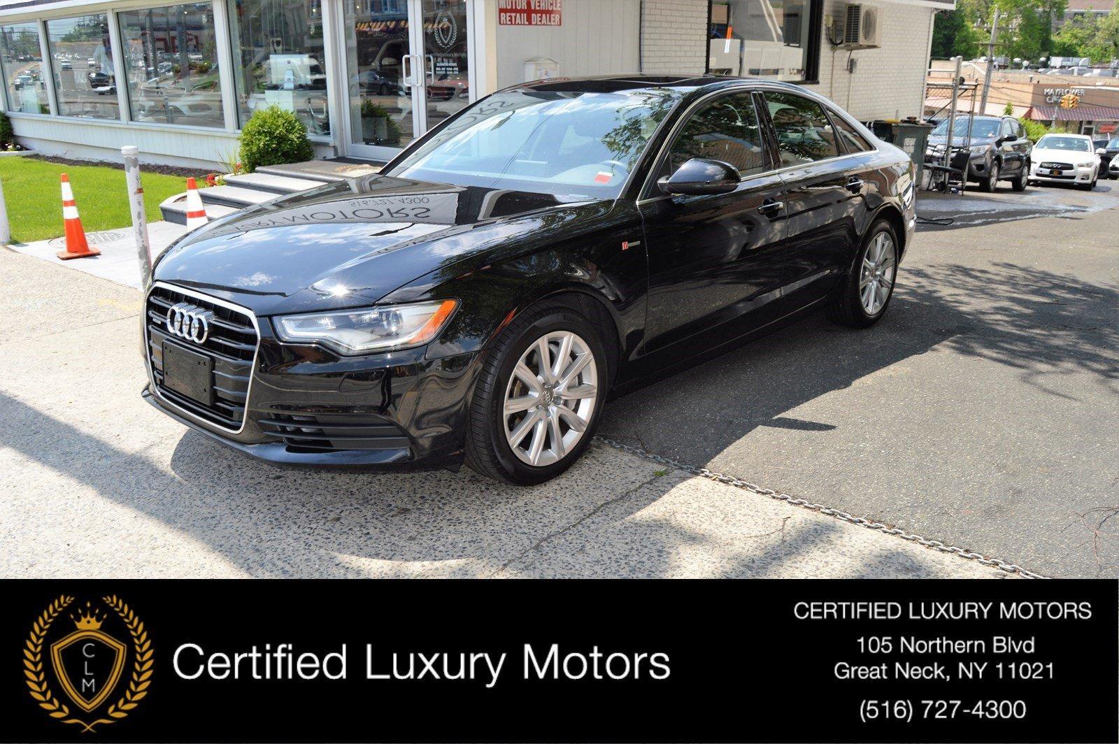 Used 2013 Audi A6 3.0T Premium Plus | Great Neck, NY