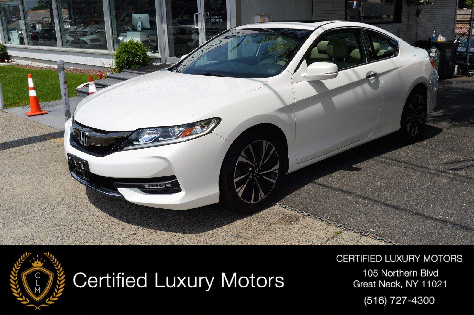 Used 2016 Honda Accord Coupe EX-L | Great Neck, NY