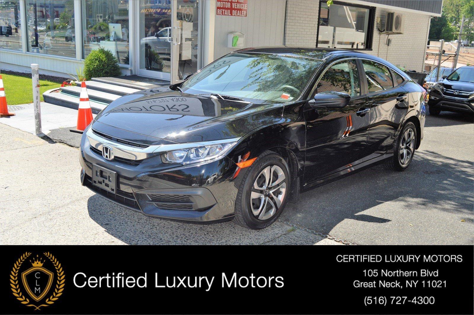 Used 2016 Honda Civic Sedan LX   Great Neck, NY