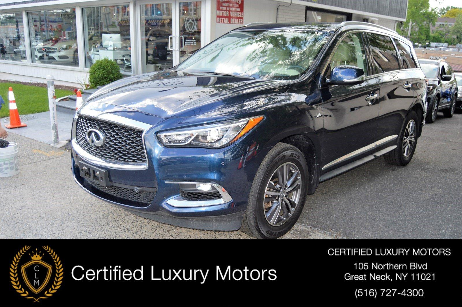 Used 2017 INFINITI QX60 Entertainment Pkg  | Great Neck, NY
