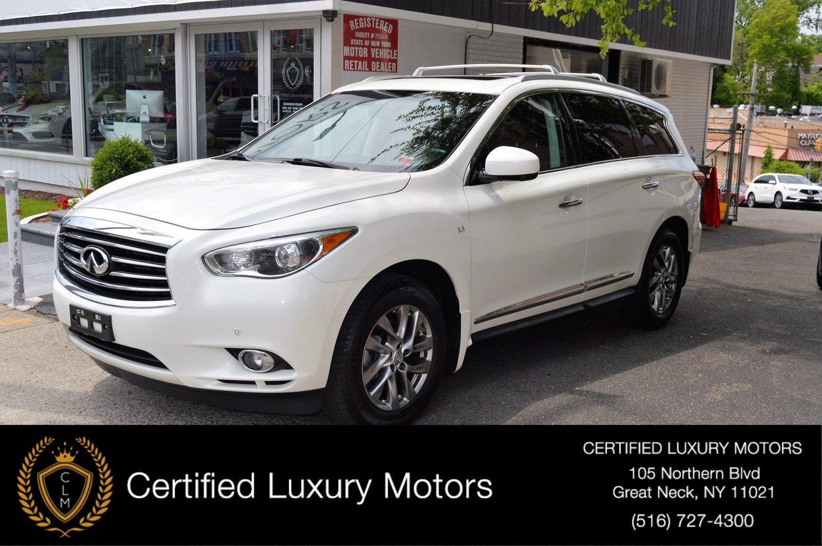 Used 2015 INFINITI QX60 Entertainment Pkg  | Great Neck, NY
