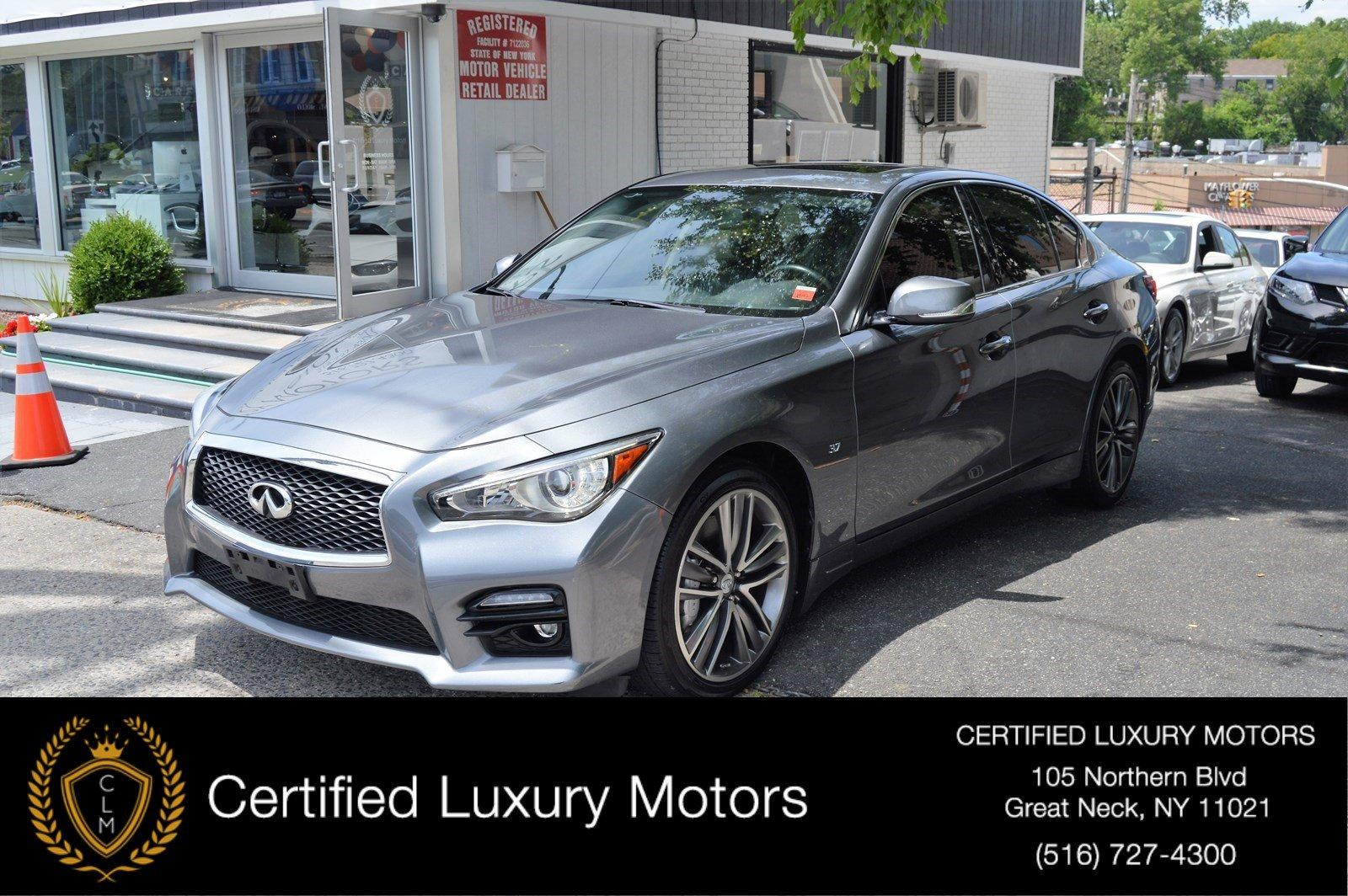 Used 2015 Infiniti Q50 Sport | Great Neck, NY