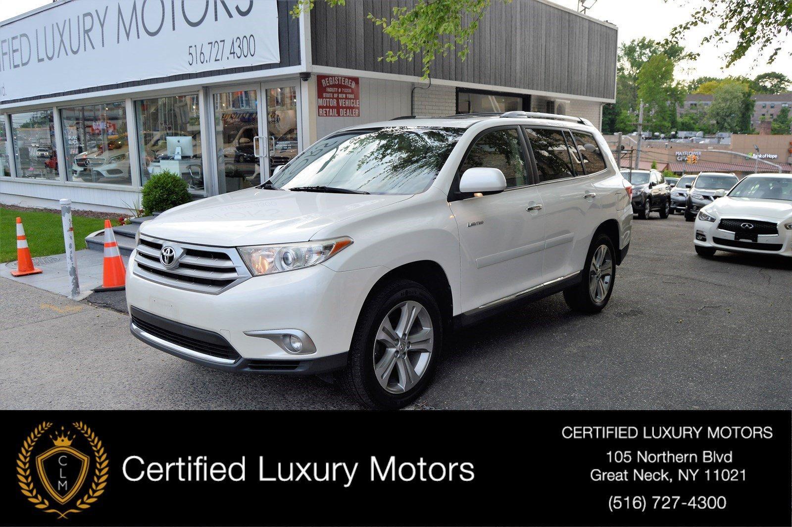 Used 2013 Toyota Highlander Limited | Great Neck, NY