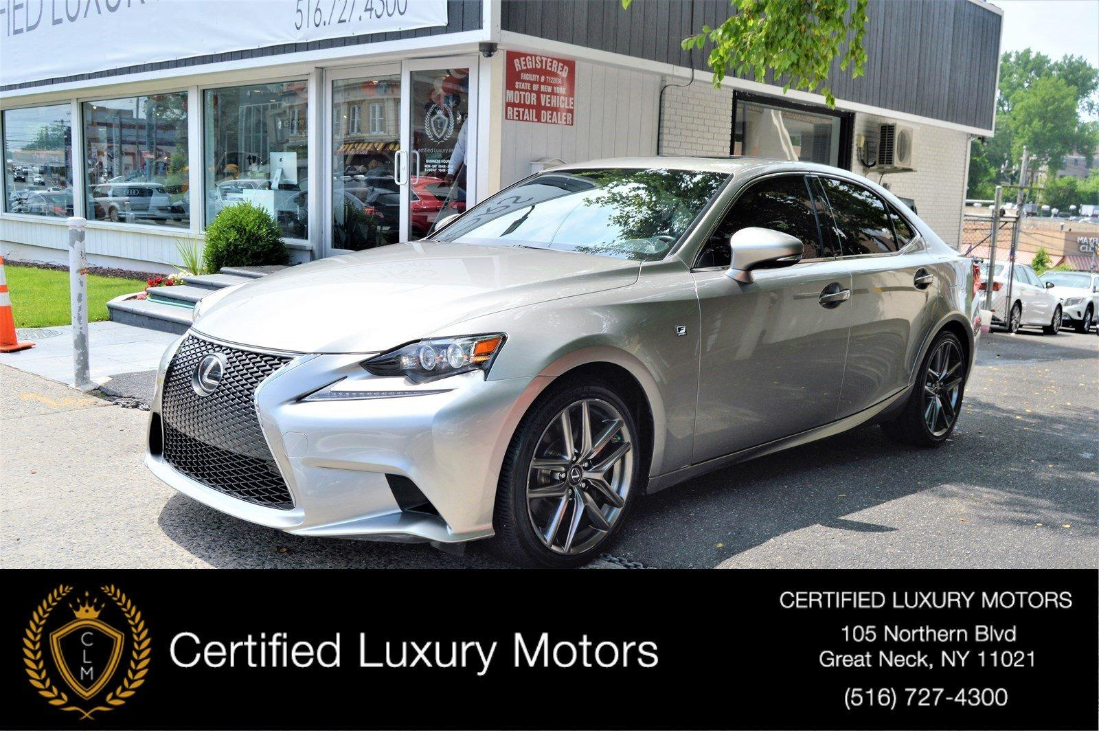 Used 2016 Lexus IS 300 AWD (Red Interior,Loaded)  | Great Neck, NY