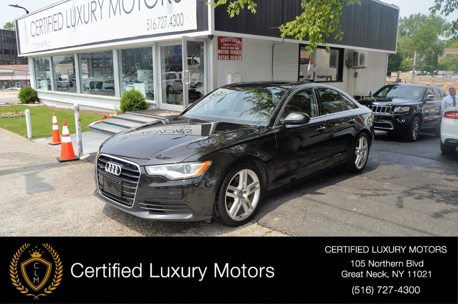 Used 2014 Audi A6 3.0L TDI Premium Plus | Great Neck, NY