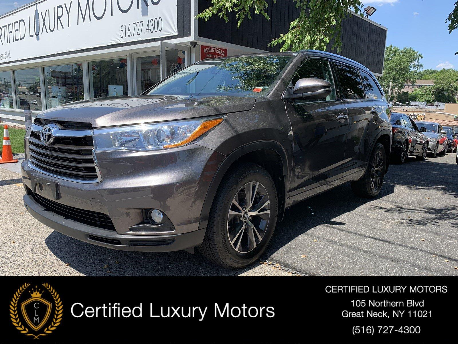 Used 2016 Toyota Highlander XLE | Great Neck, NY