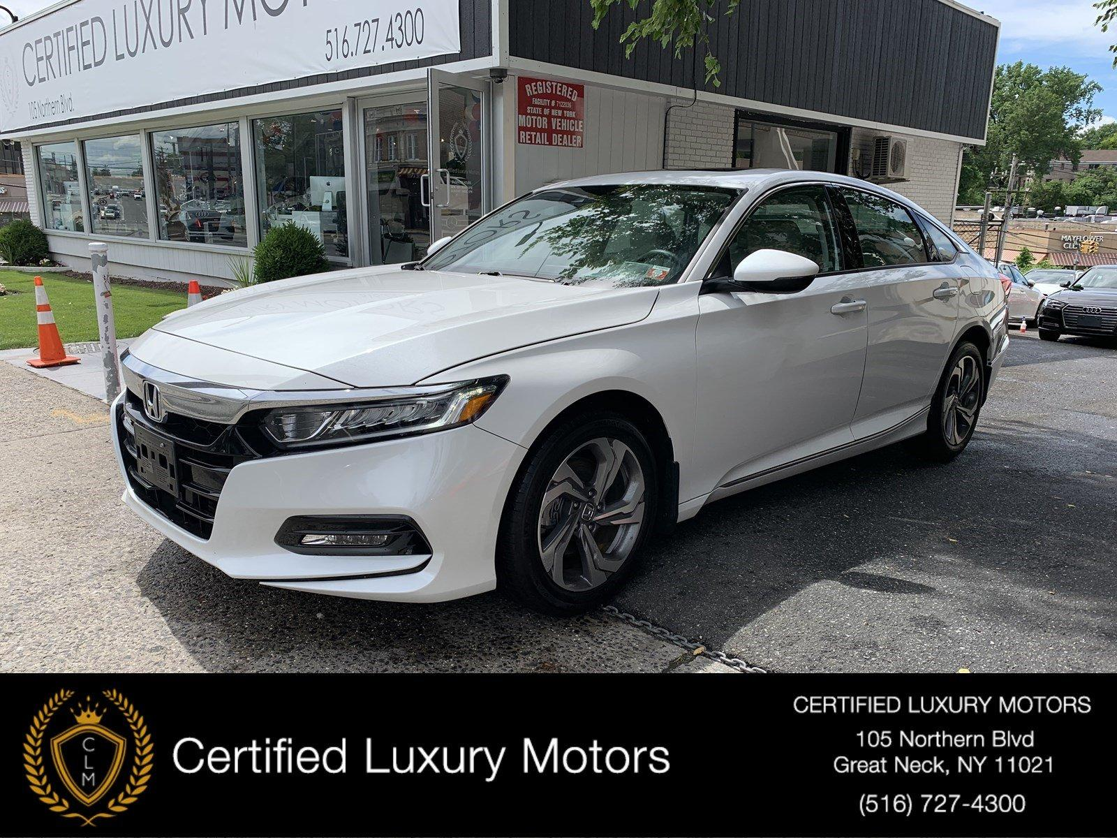 Used 2018 Honda Accord Sedan EX-L 2.0T | Great Neck, NY