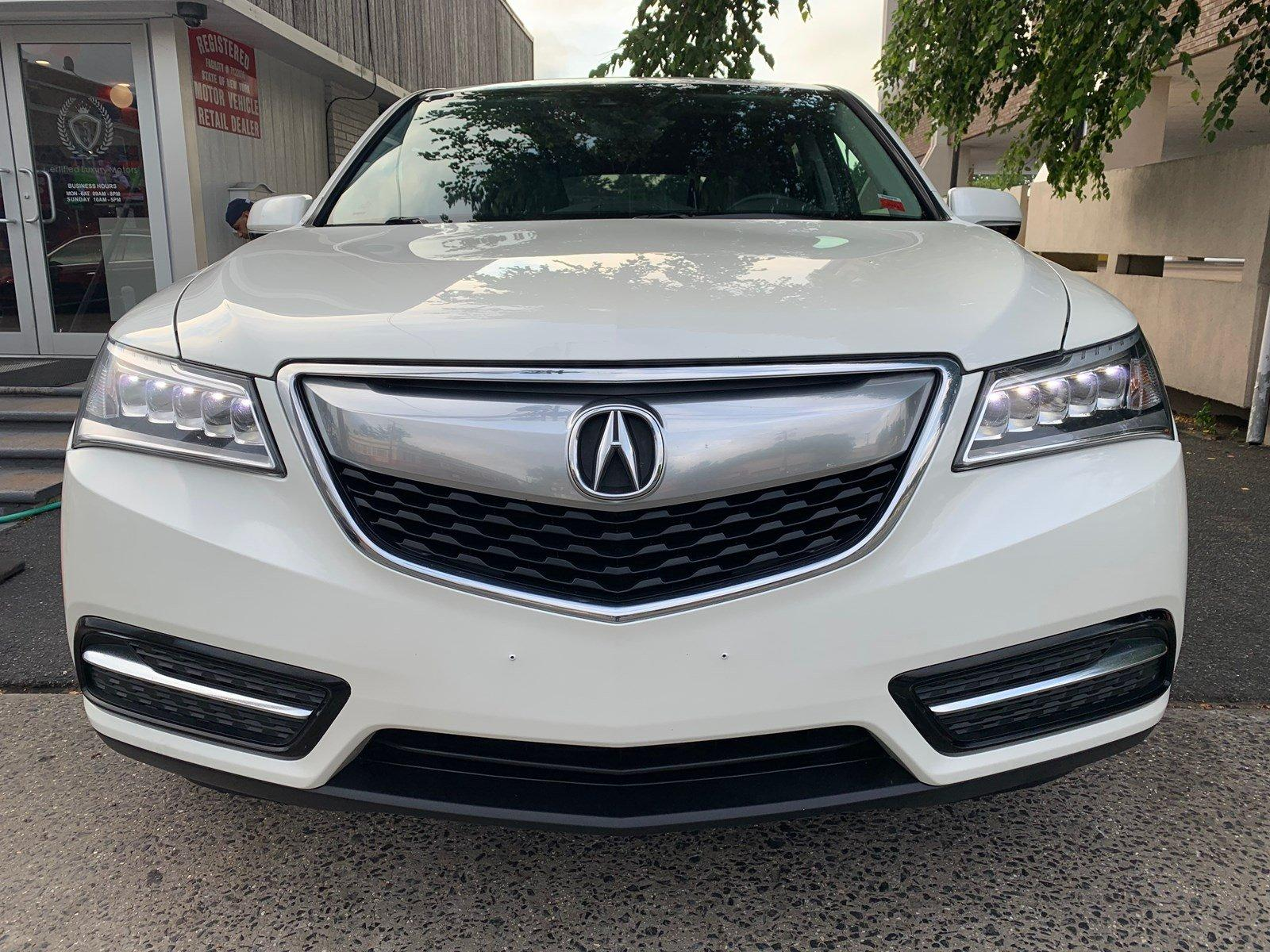 Used-2016-Acura-MDX-w/Tech/Entertainment/AcuraWatch-Plu