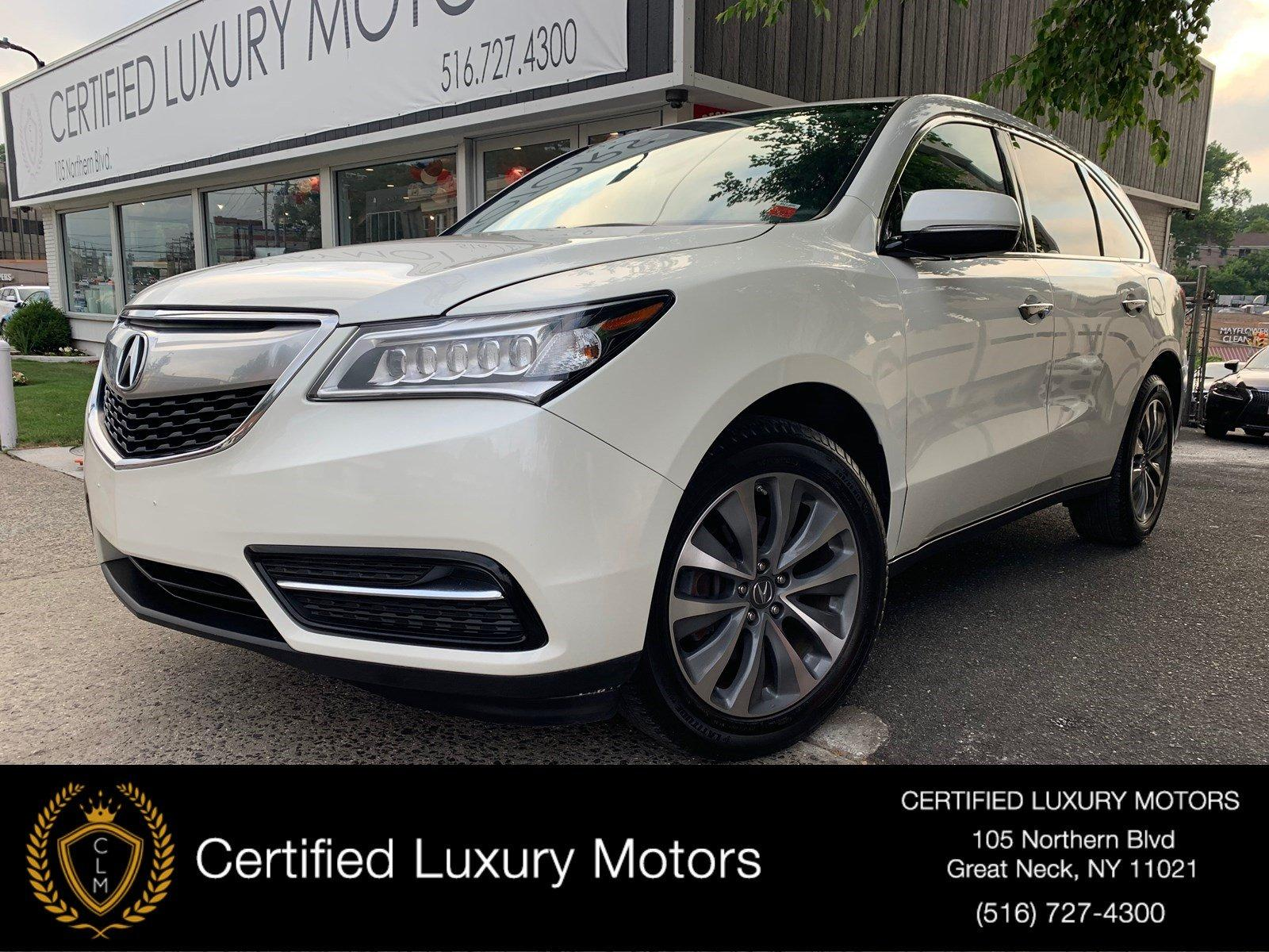 Used 2016 Acura MDX w/Tech/Entertainment/AcuraWatch Plu | Great Neck, NY