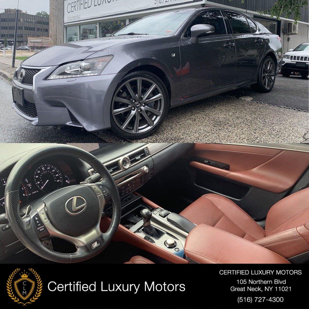 Used 2014 Lexus GS 350 AWD F-Sport (Red Interior,Fully Loaded)  | Great Neck, NY