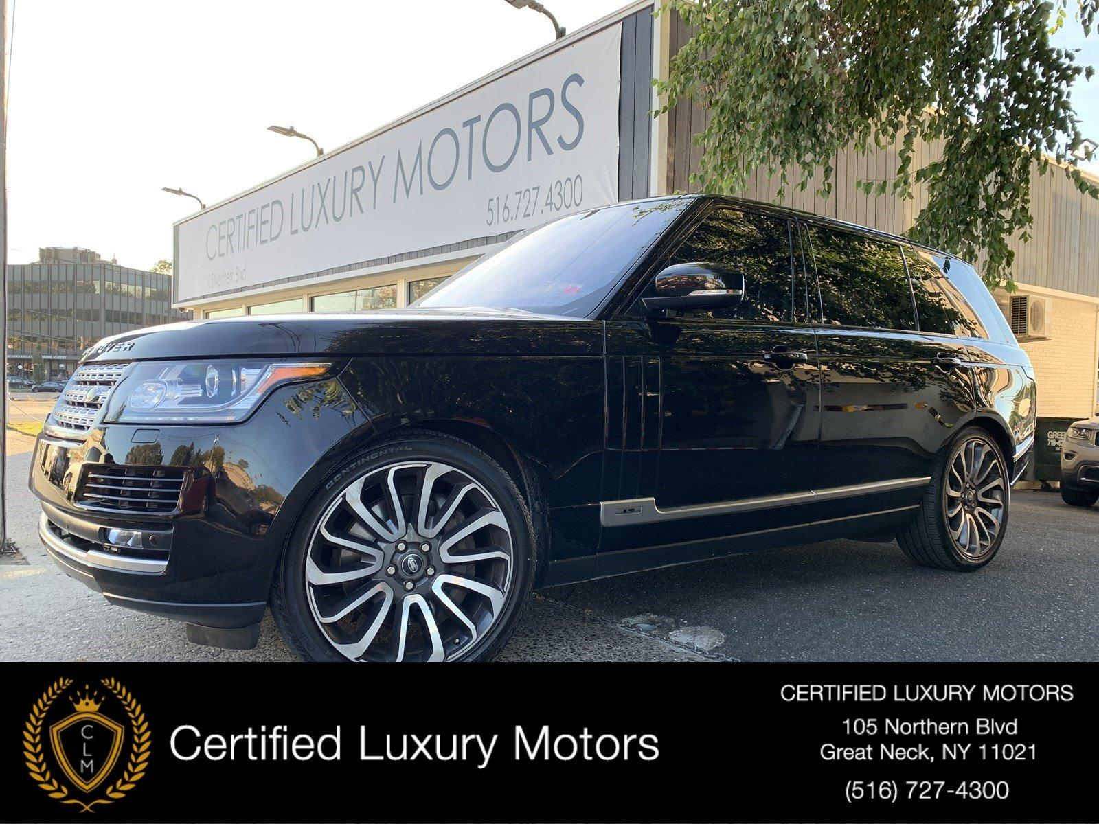 Used 2016 Land Rover Range Rover Supercharged | Great Neck, NY