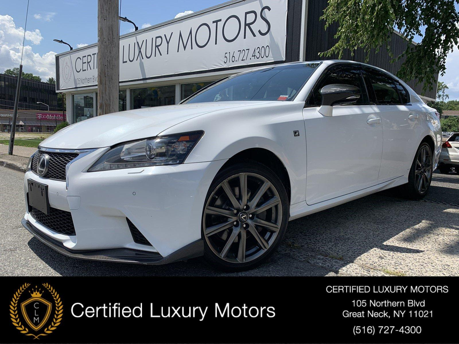 Used 2015 Lexus GS 350 AWD F-Sport (Red Interior)    Great Neck, NY
