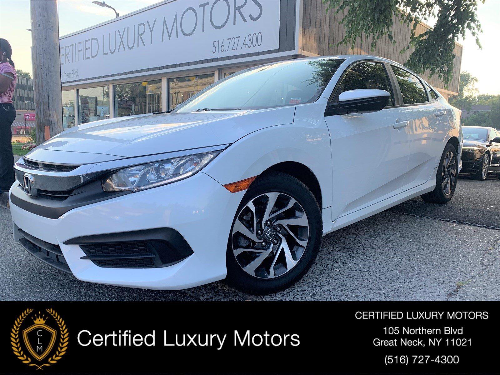 Used 2016 Honda Civic Sedan EX | Great Neck, NY