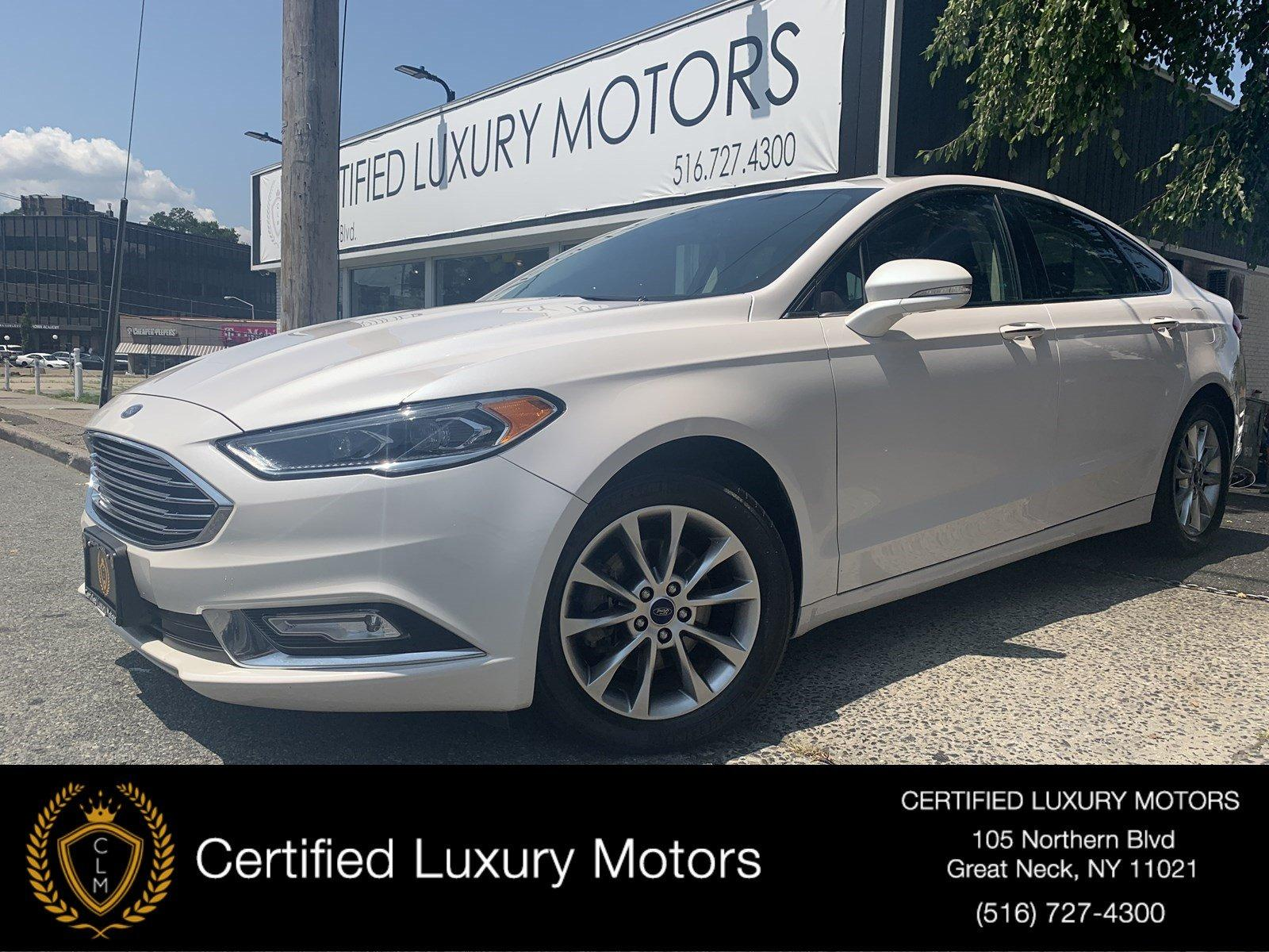 Used 2017 Ford Fusion SE (Leather,Backup Cam,Sunroof) | Great Neck, NY