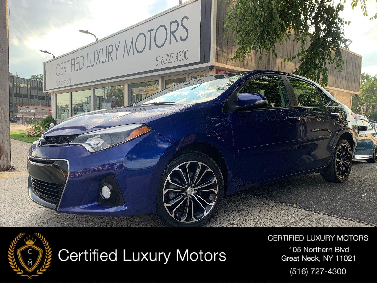 Used 2016 Toyota Corolla S Plus | Great Neck, NY