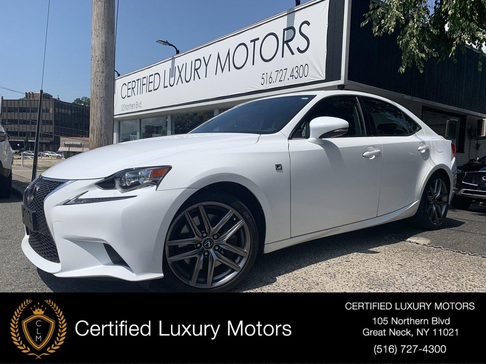 Used 2016 Lexus IS 200t (Red Interior)  | Great Neck, NY
